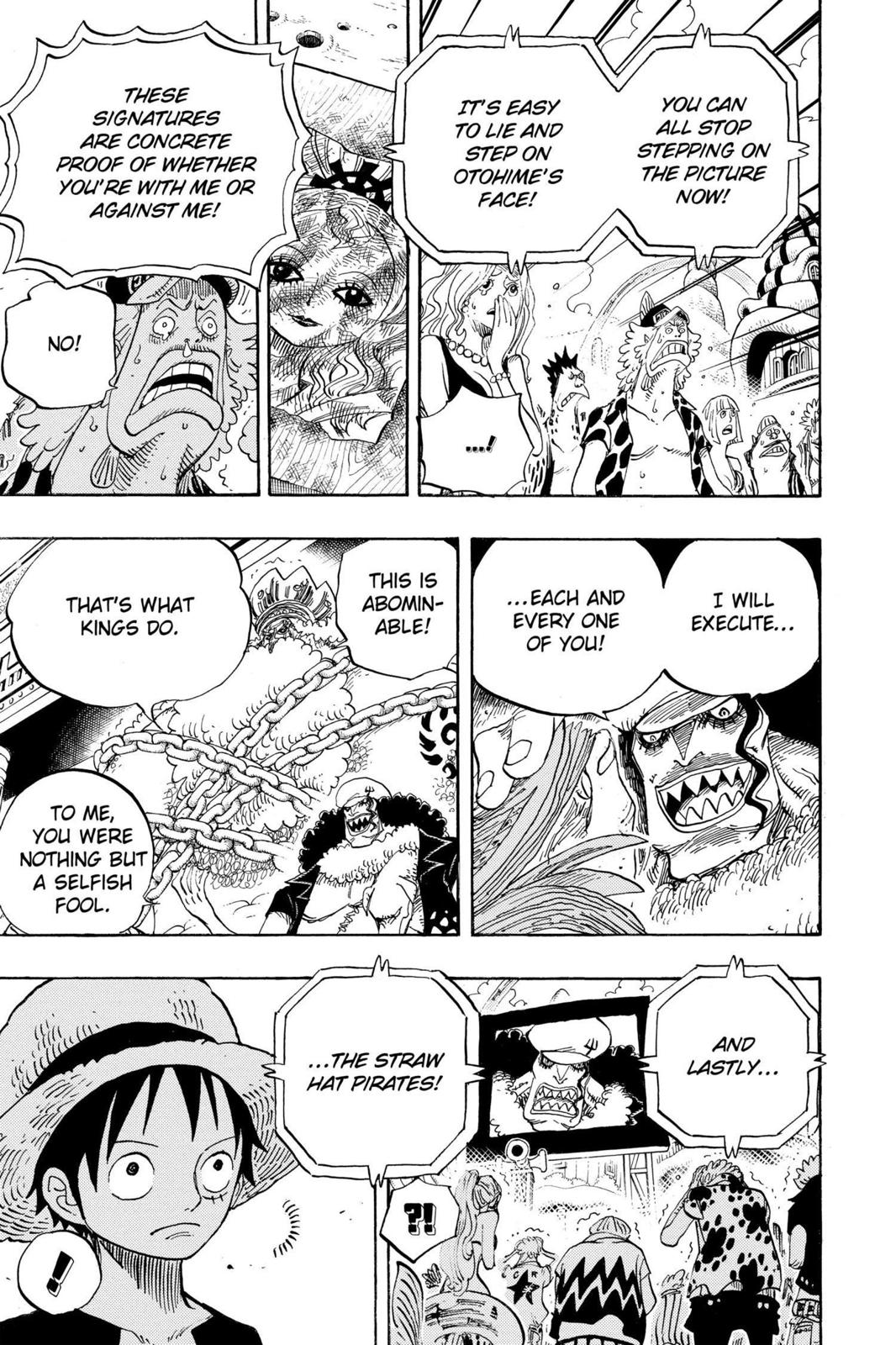 One Piece, Chapter 628 image 011
