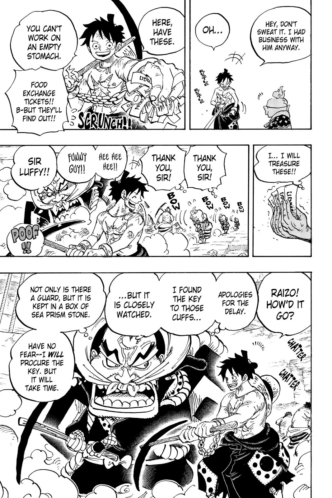 One Piece, Chapter 928 image 003