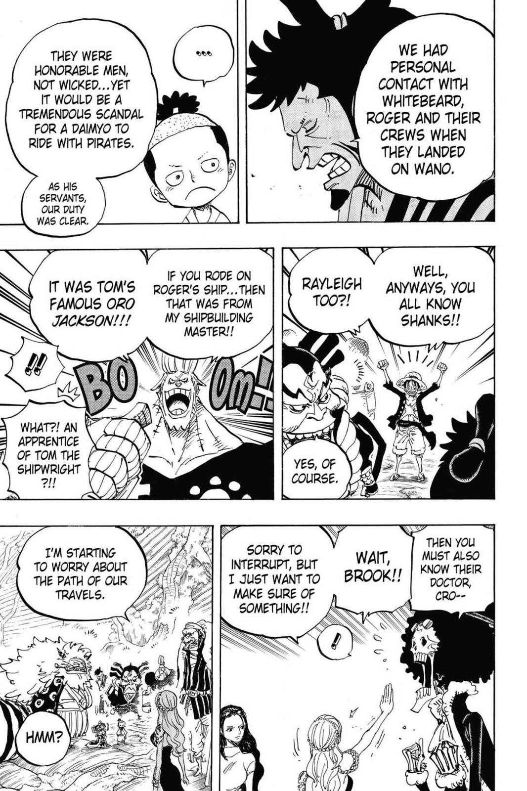 One Piece, Chapter 820 image 005