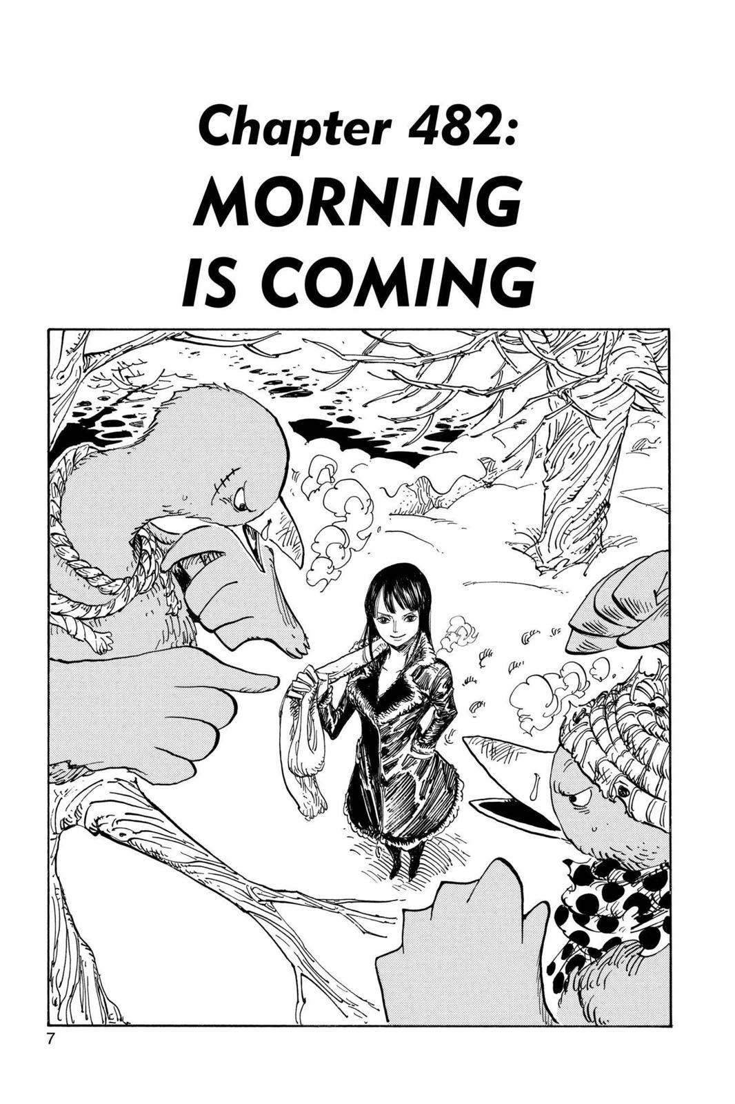 One Piece, Chapter 482 image 007