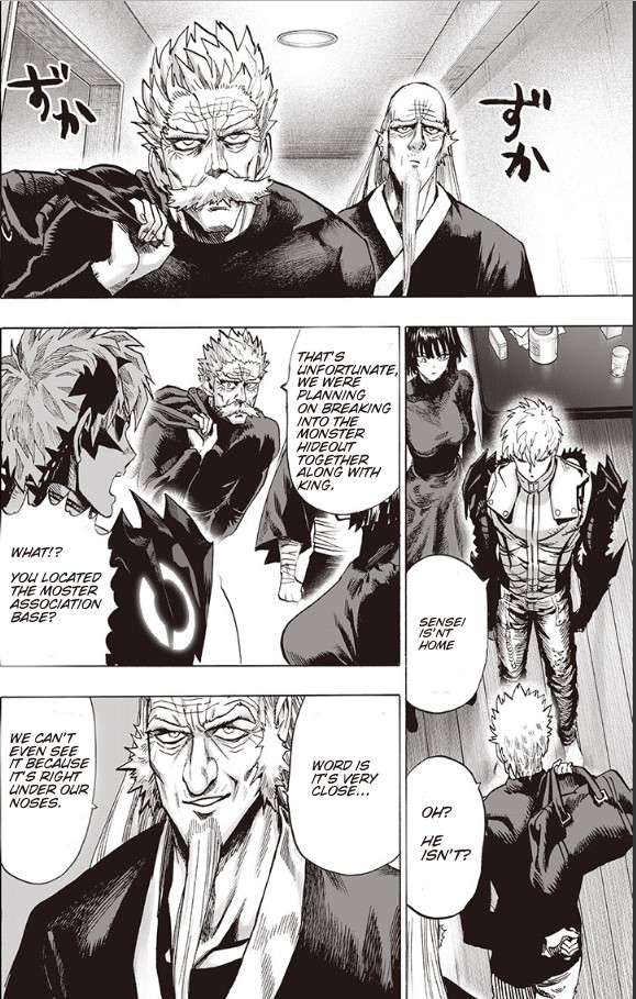 One Punch Man, Chapter Onepunch-Man 93 image 063