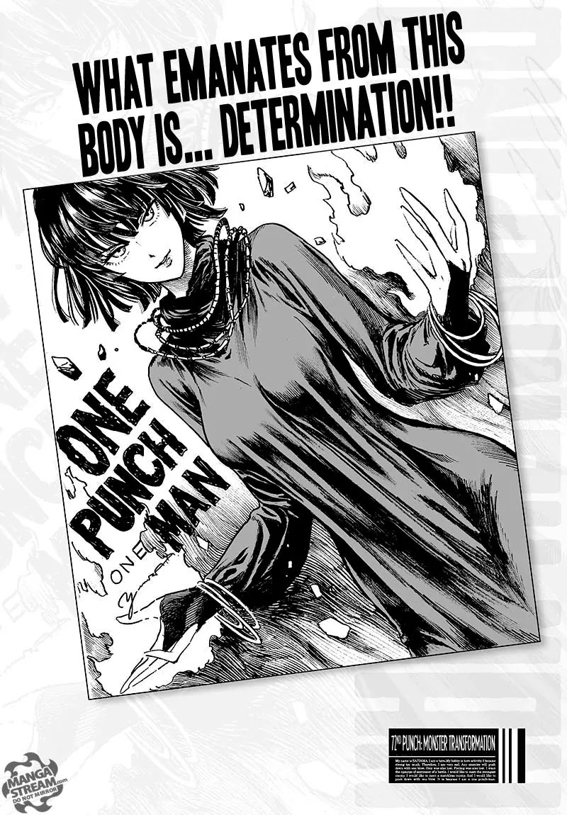 One Punch Man, Chapter Onepunch-Man 72.1 image 001