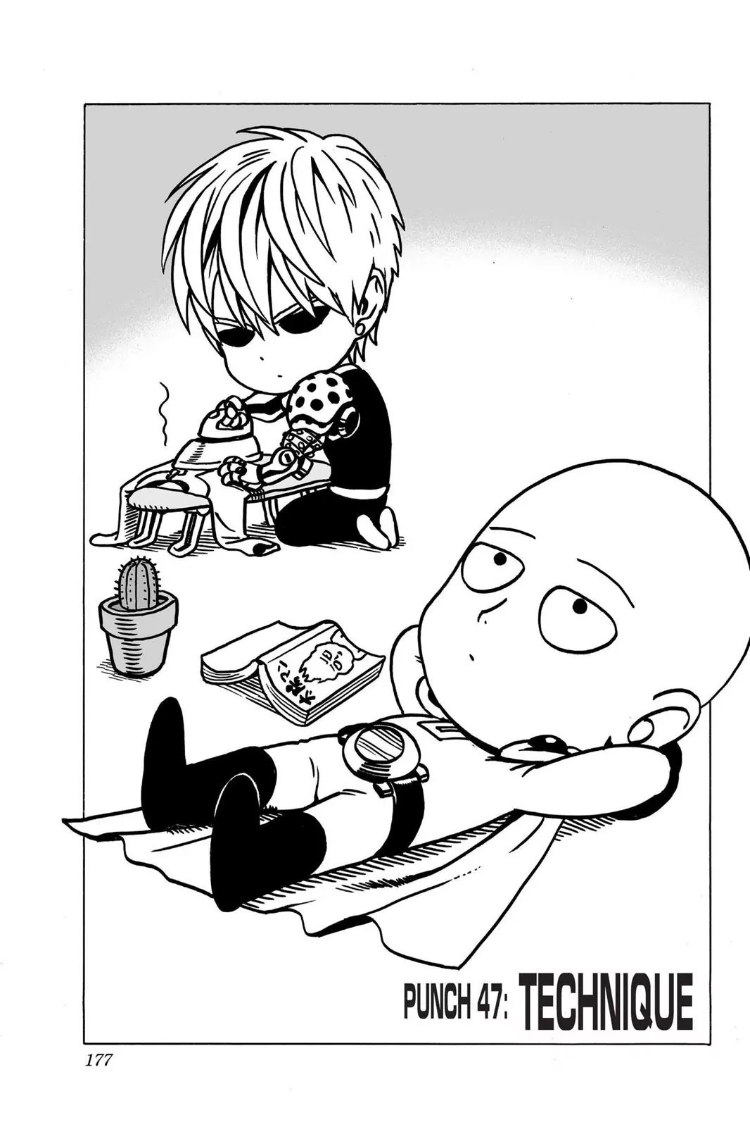 One Punch Man, Chapter Onepunch-Man 47 image 001