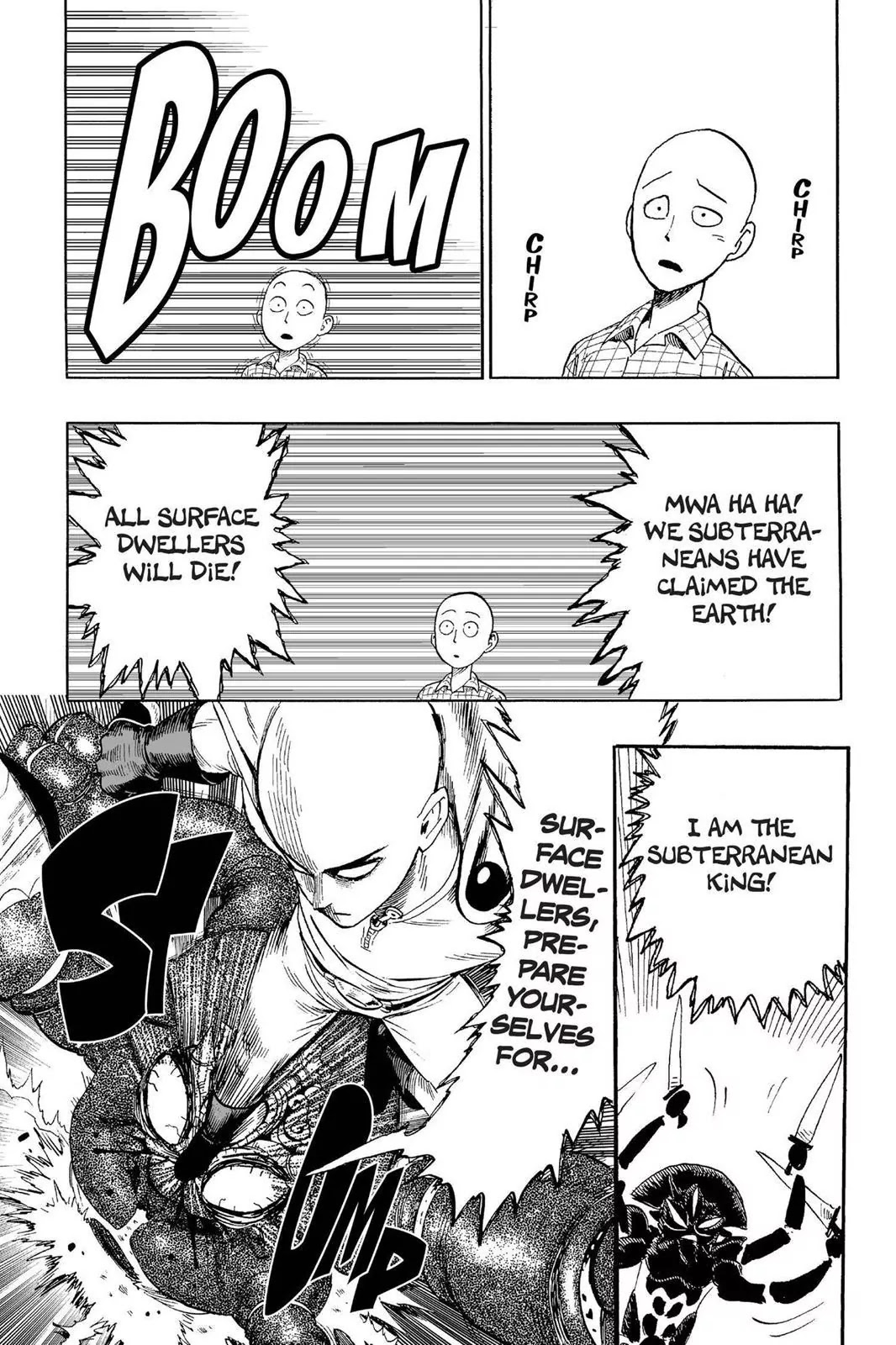 One Punch Man, Chapter Onepunch-Man 4 image 022