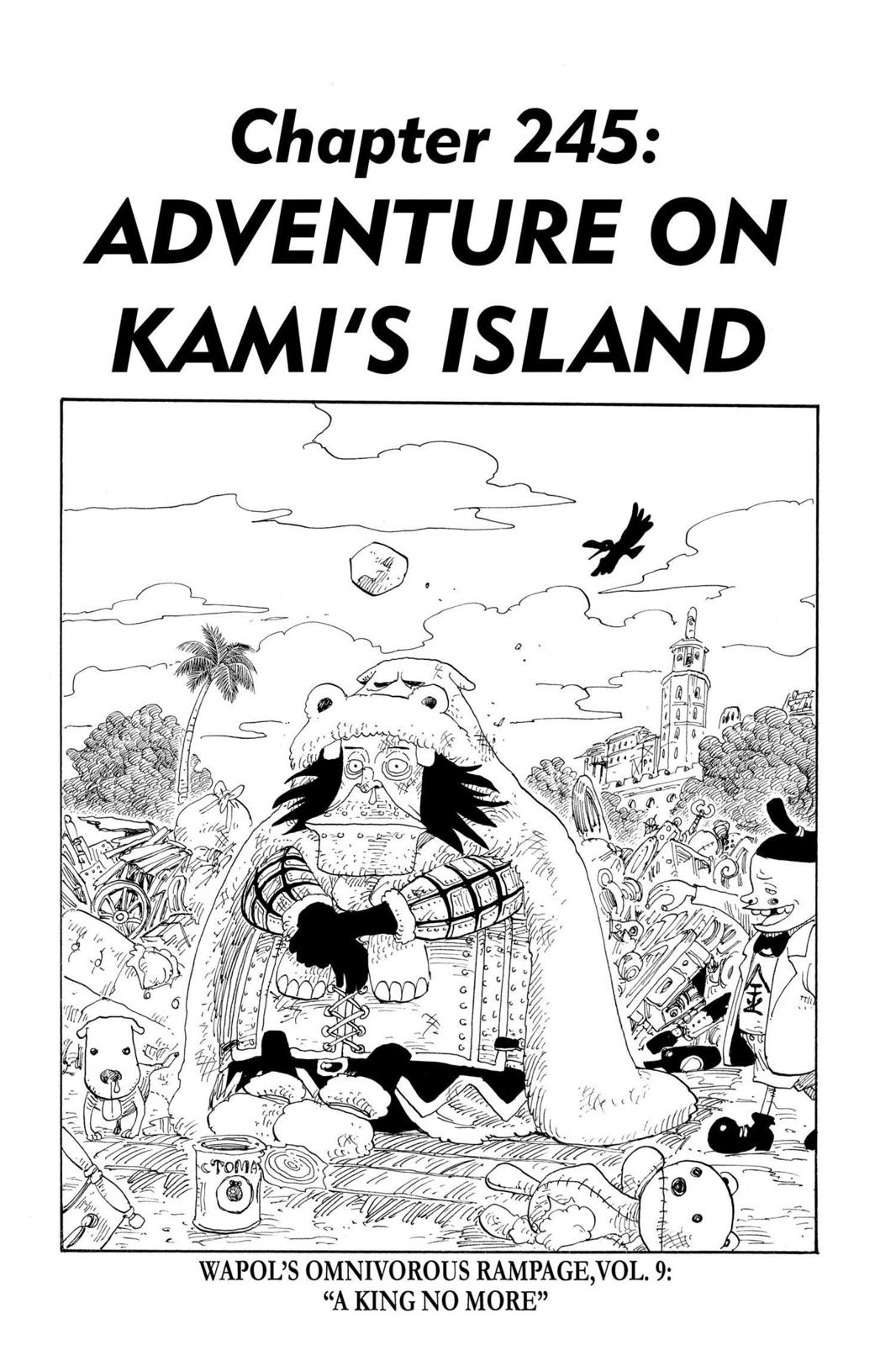 One Piece, Chapter 245 image 001