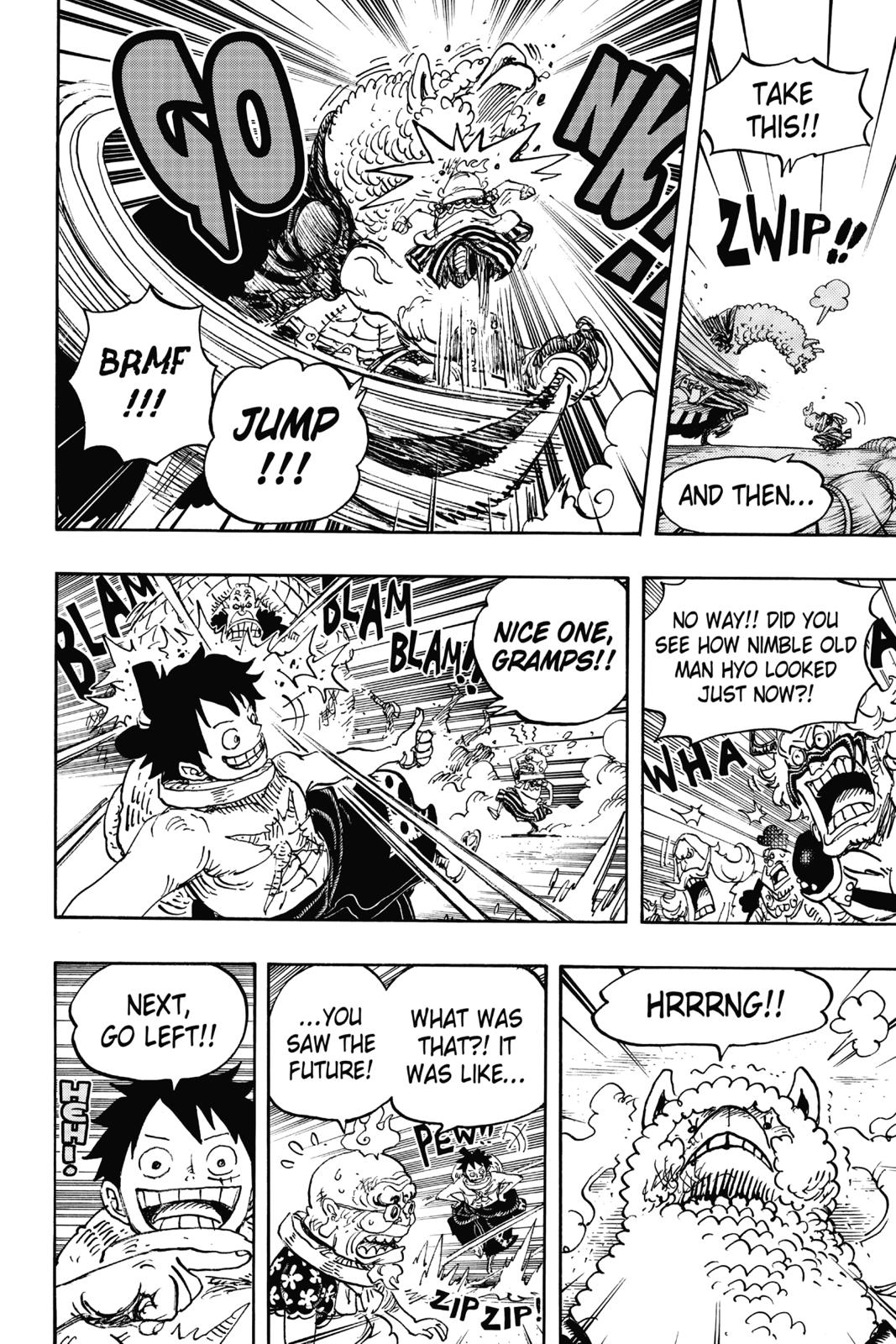 One Piece, Chapter 939 image 011
