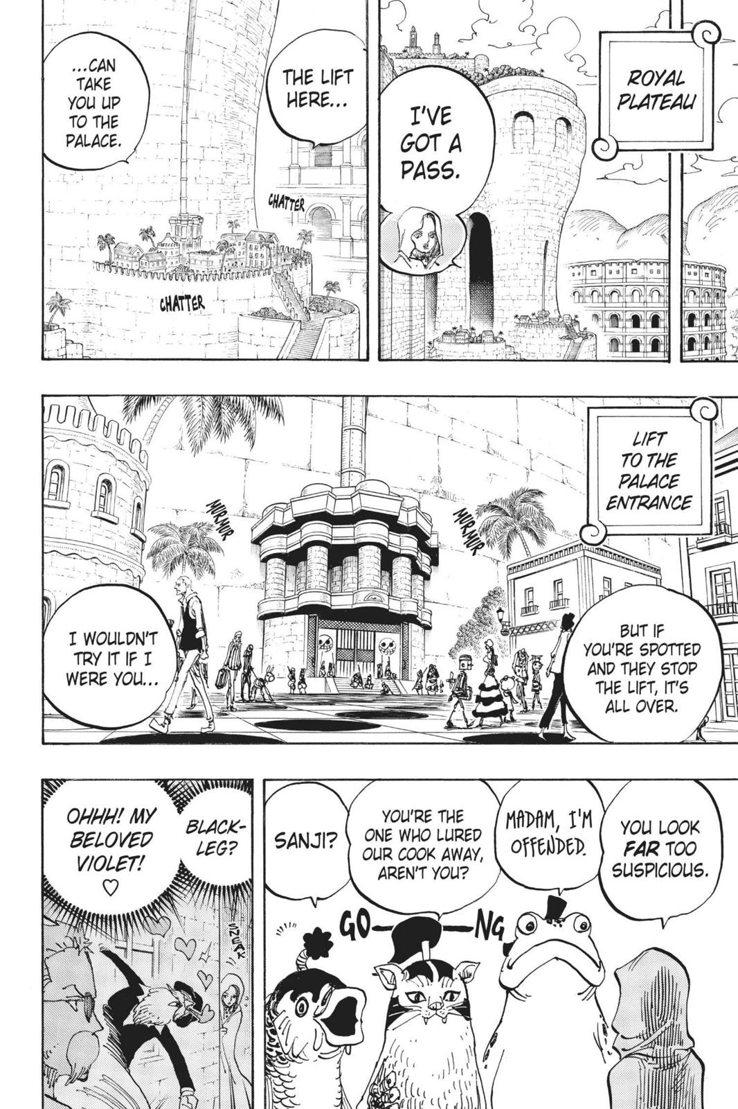 One Piece, Chapter 735 image 004
