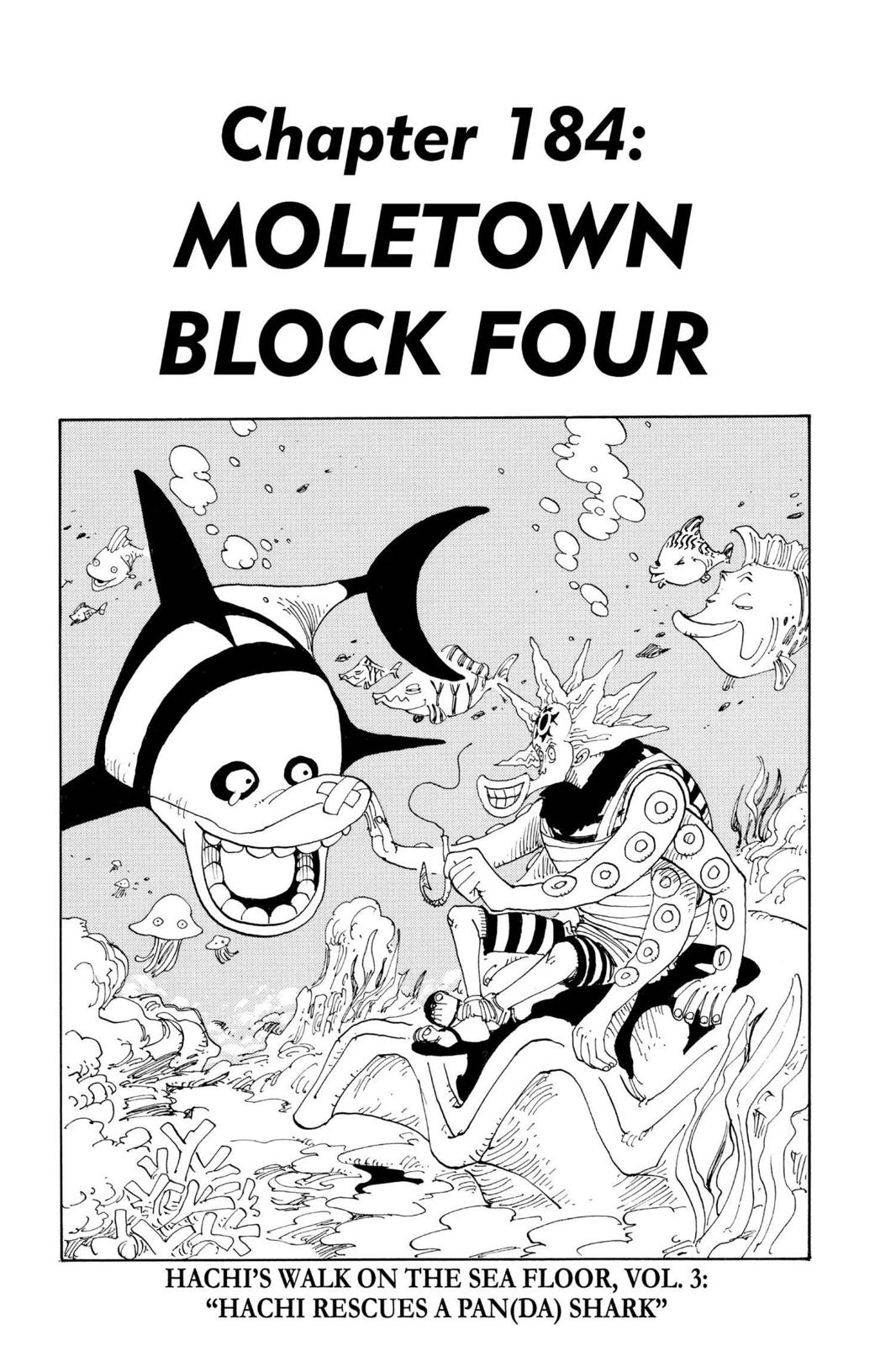 One Piece, Chapter 184 image 001