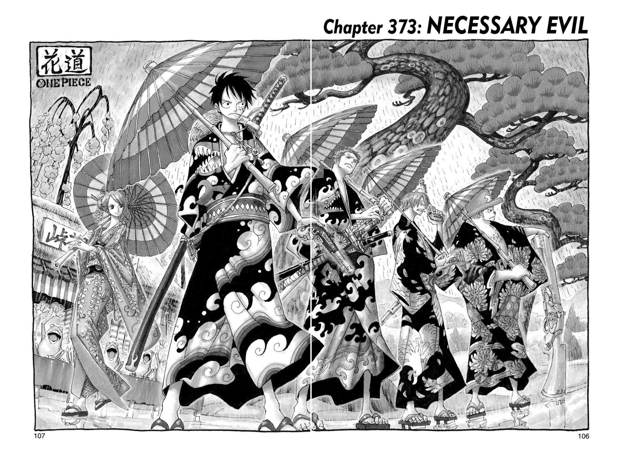 One Piece, Chapter 373 image 001
