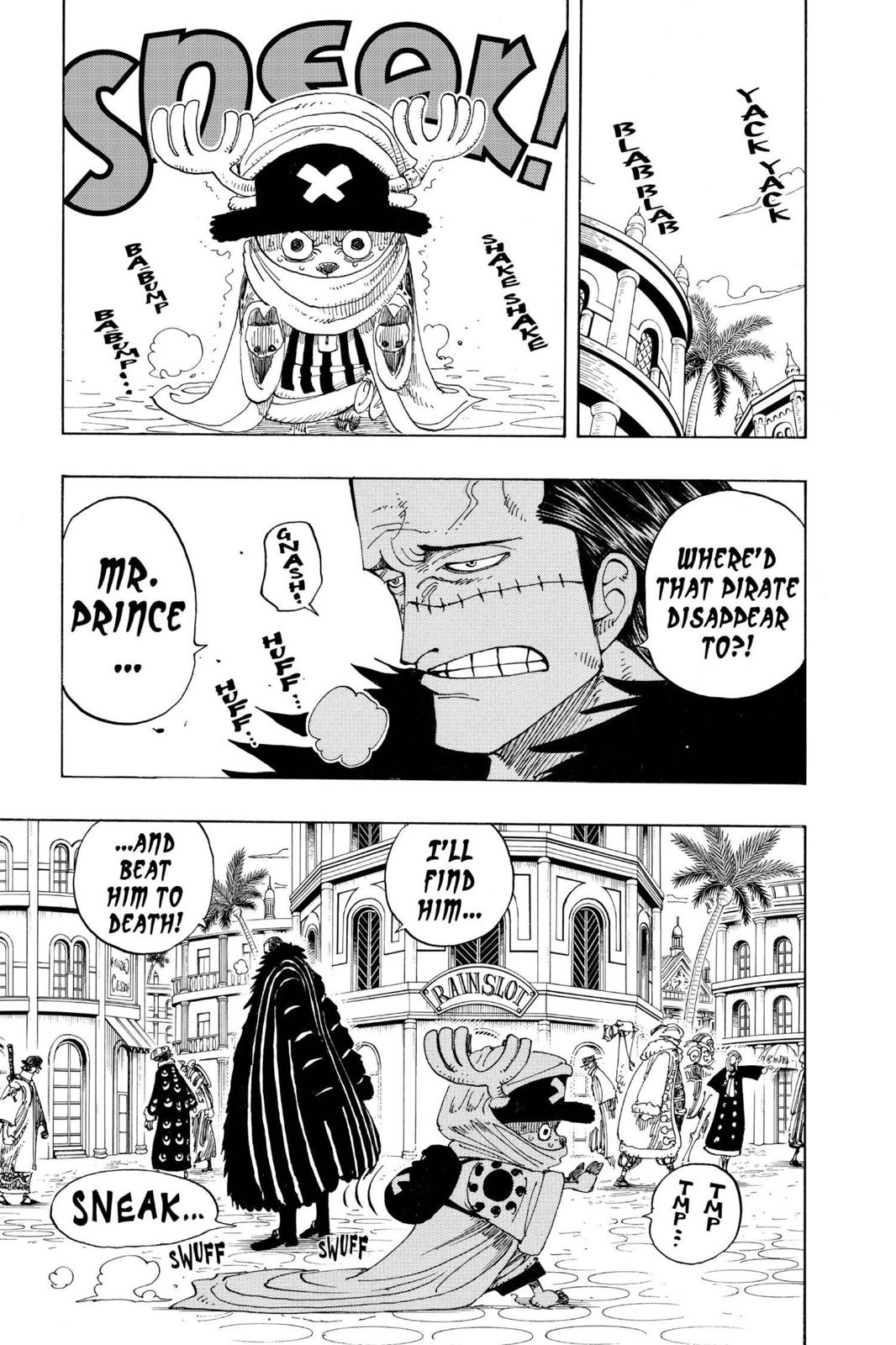 One Piece, Chapter 175 image 007