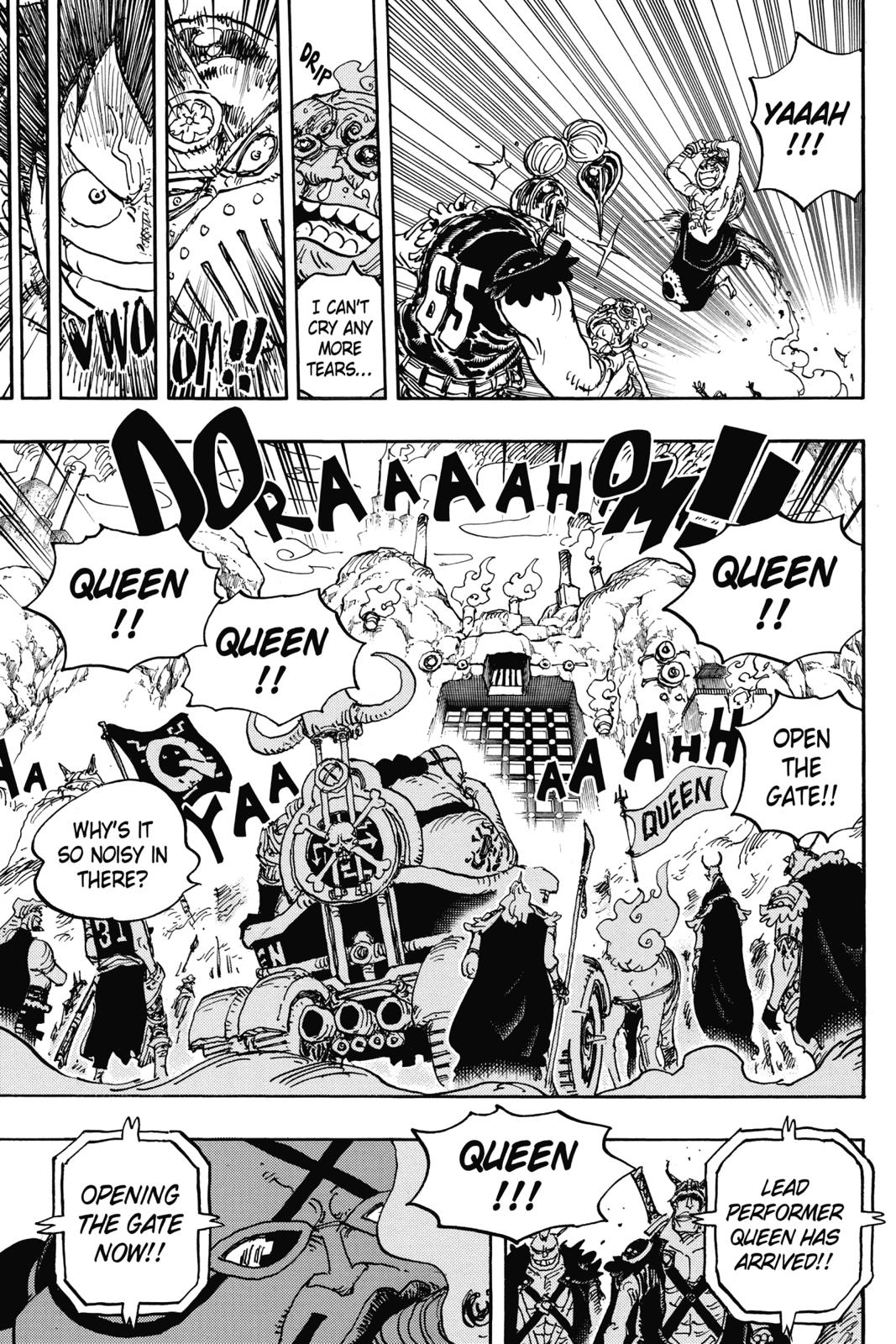 One Piece, Chapter 934 image 015