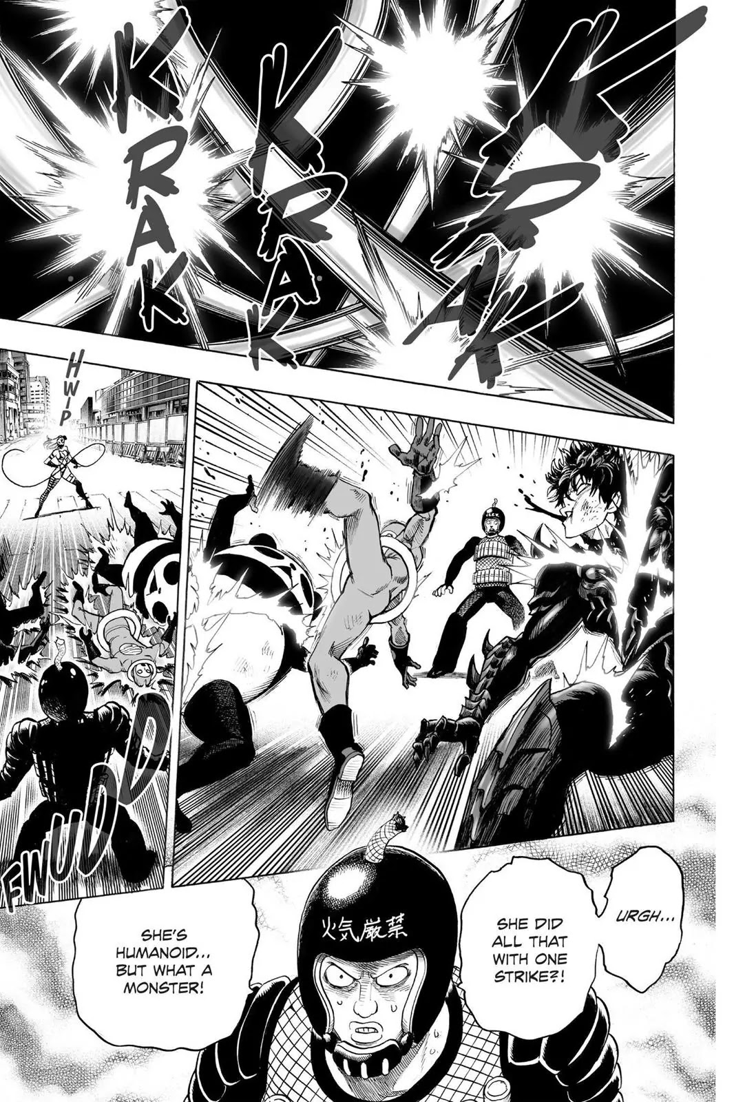One Punch Man, Chapter Onepunch-Man 61 image 003
