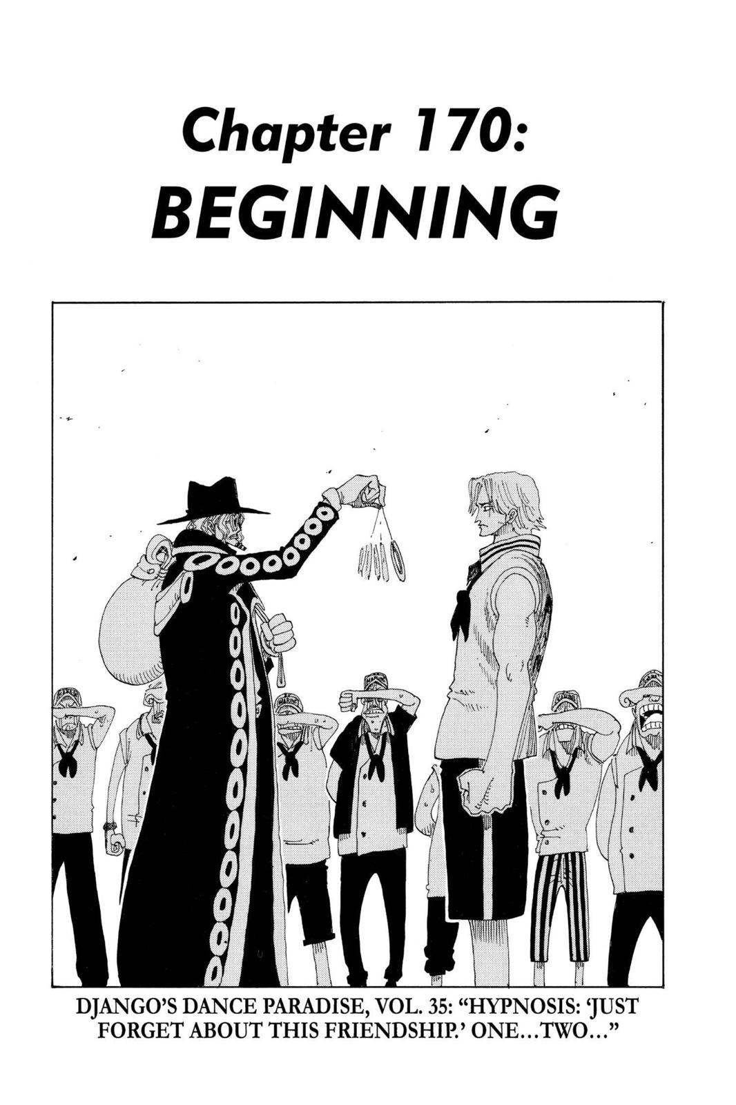 One Piece, Chapter 170 image 001