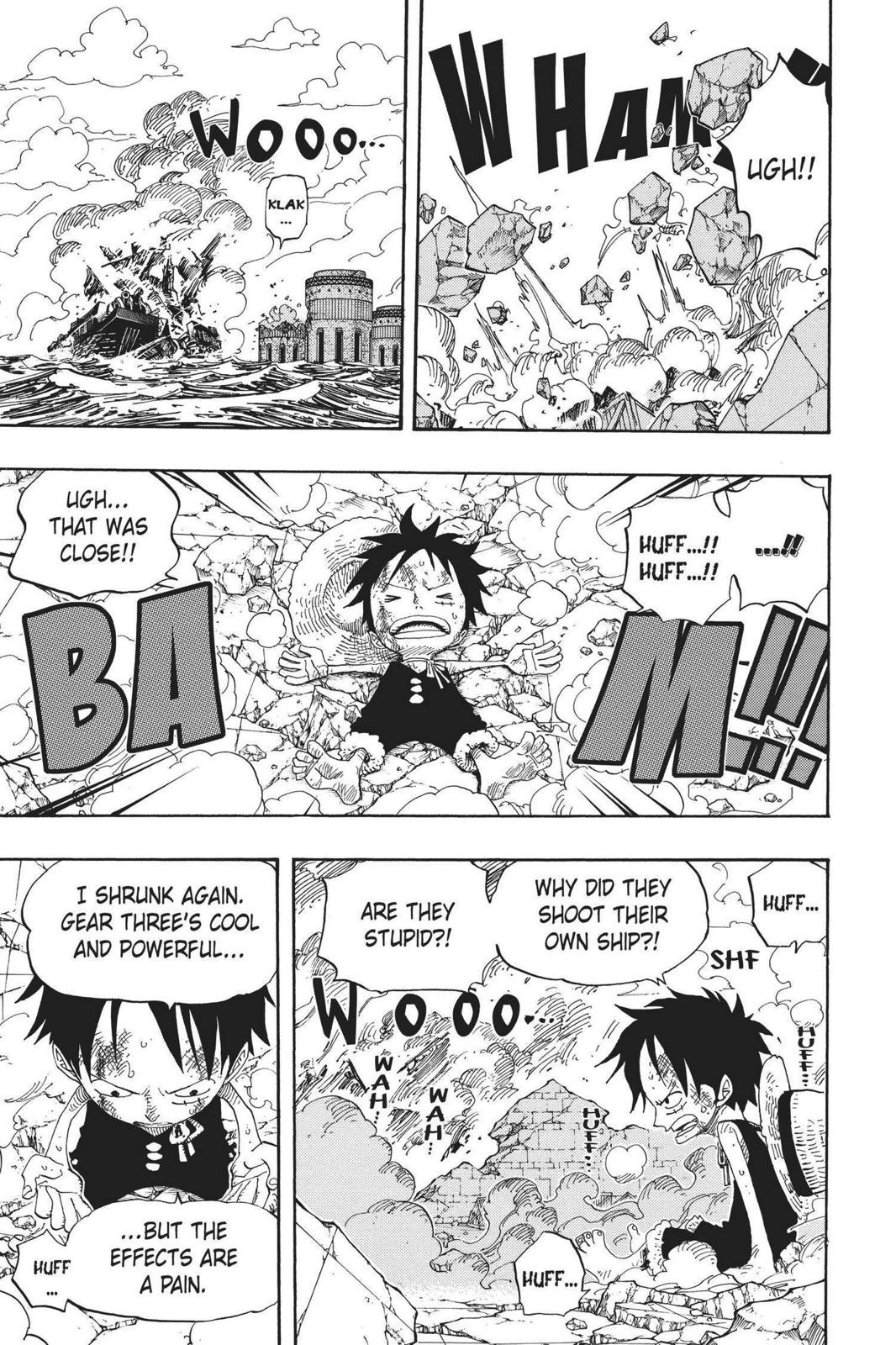 One Piece, Chapter 423 image 003