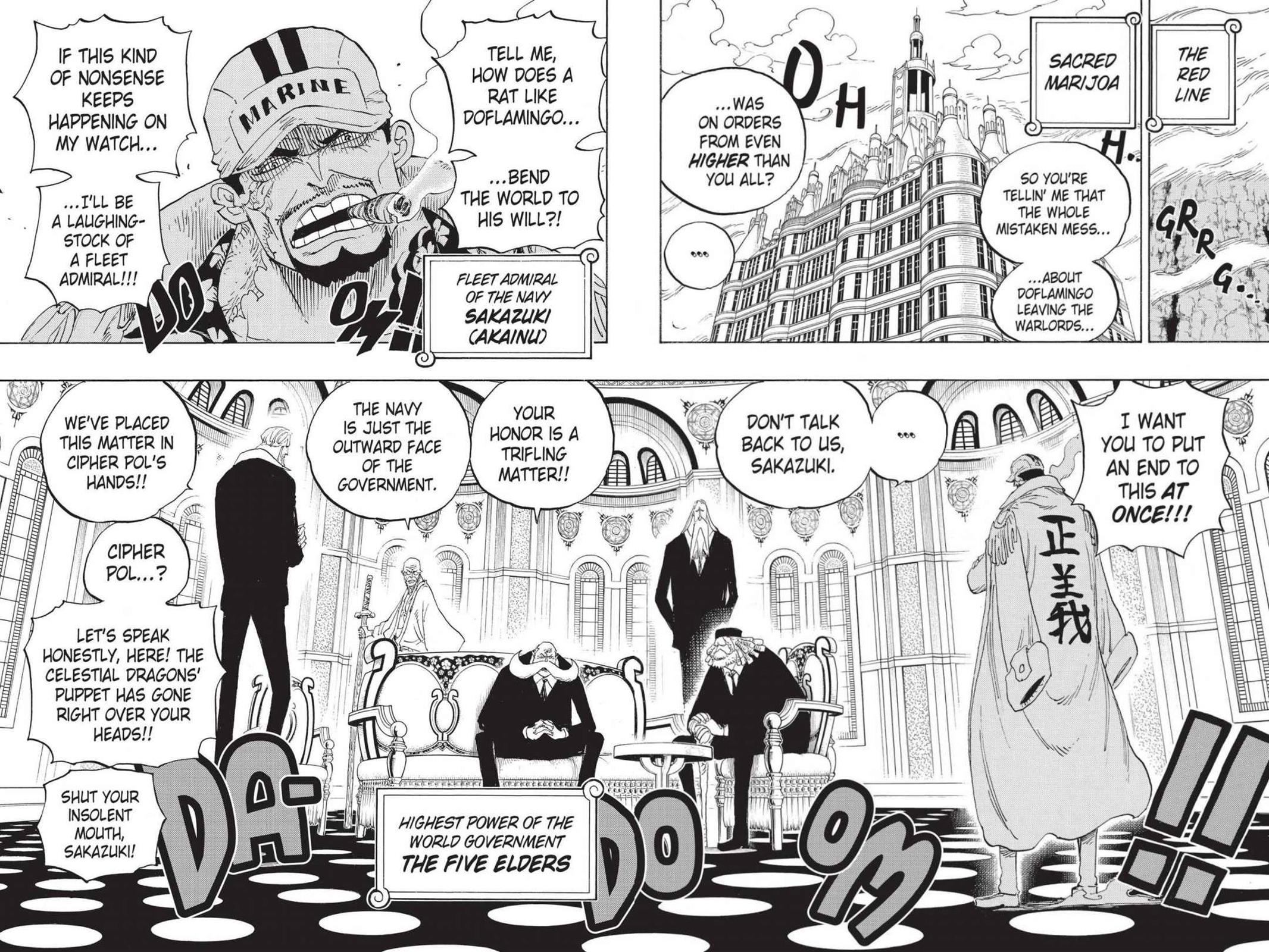 One Piece, Chapter 793 image 004