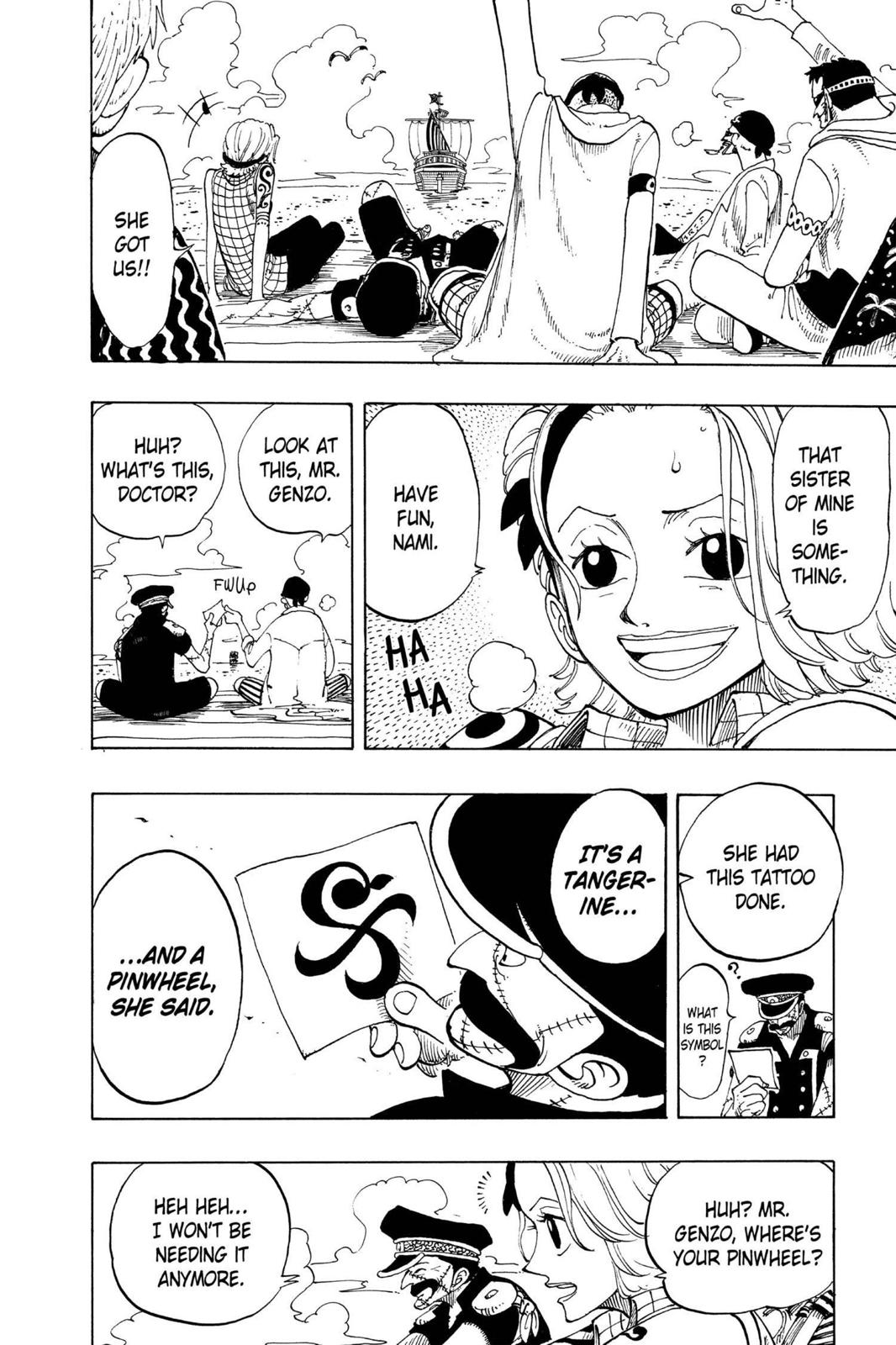 One Piece, Chapter 95 image 018