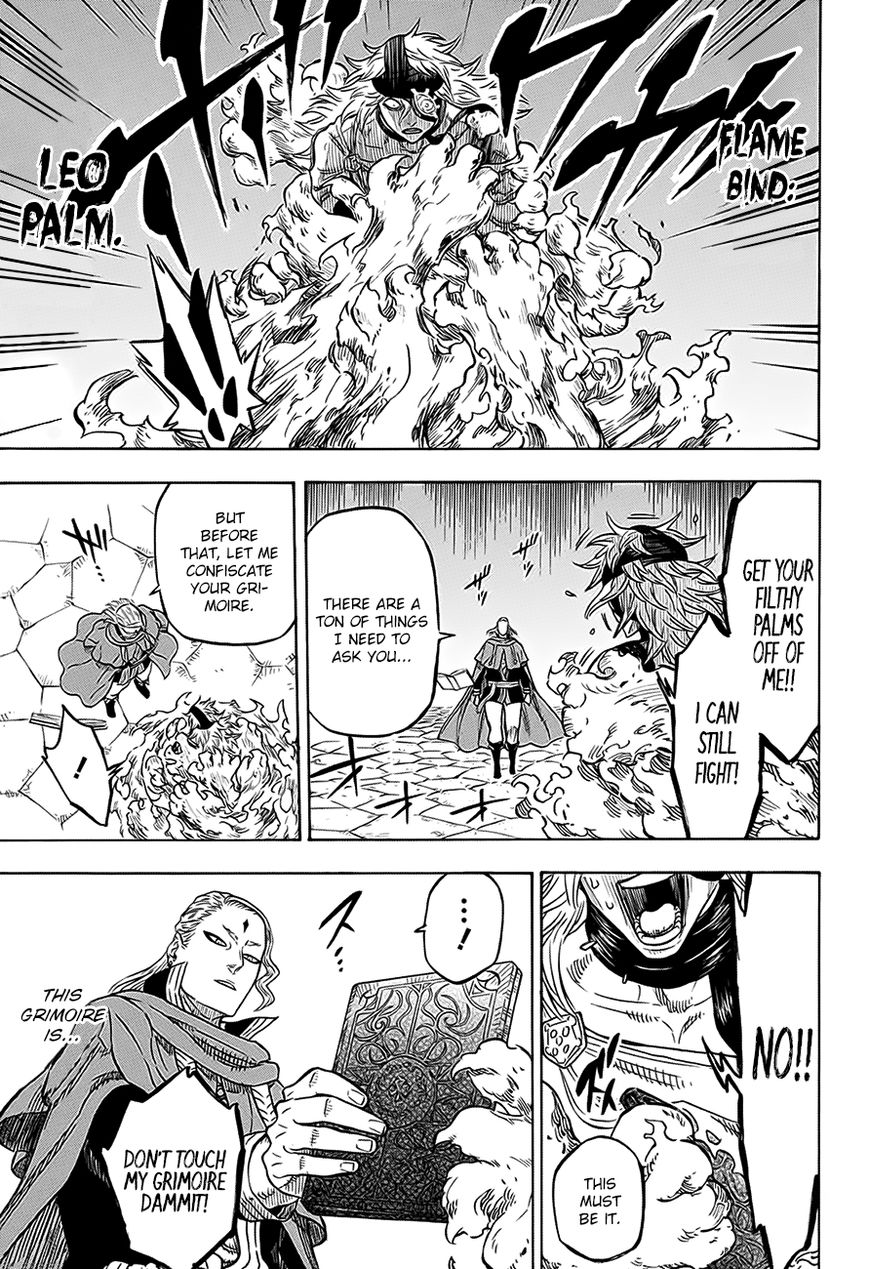Black Clover, Chapter 32 The Man at the End of the Darkness image 006