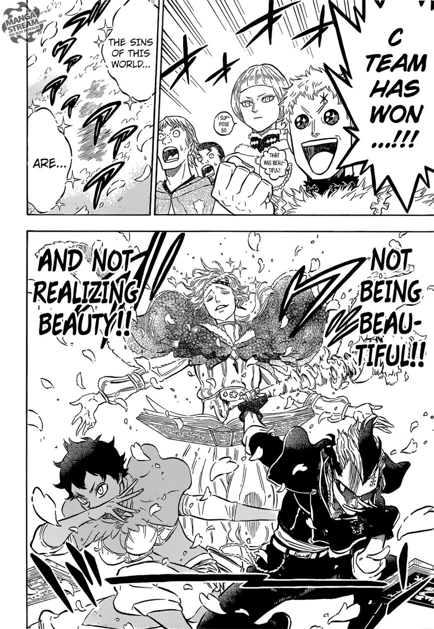 Black Clover, Chapter 116 Coral Peacock's Captain image 016