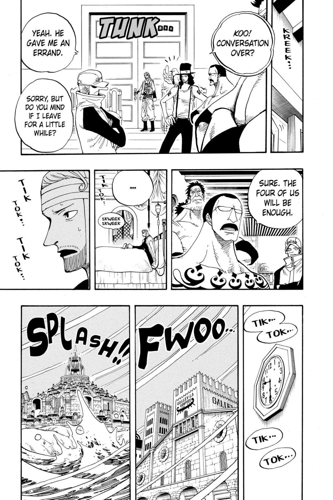 One Piece, Chapter 342 image 011