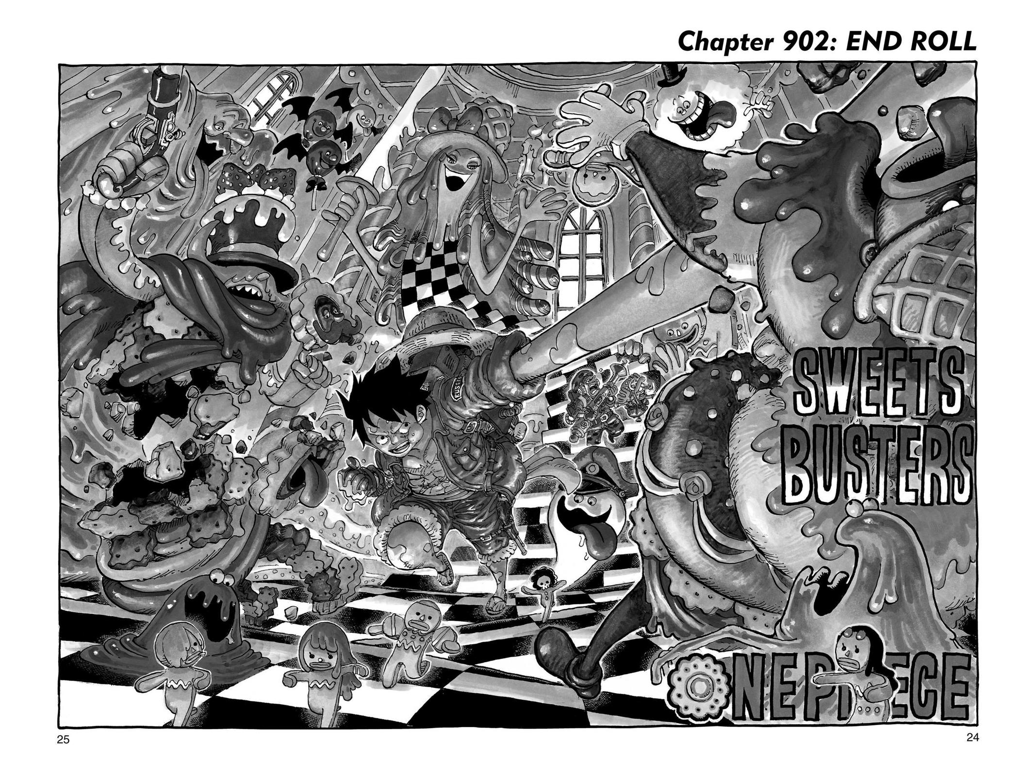 One Piece, Chapter 902 image 001