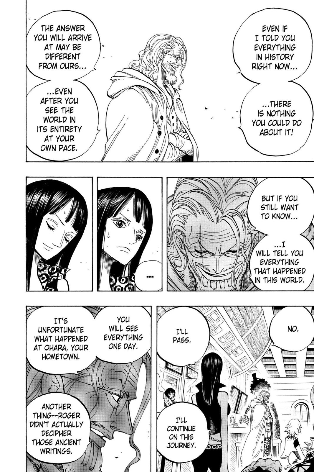 One Piece, Chapter 507 image 006