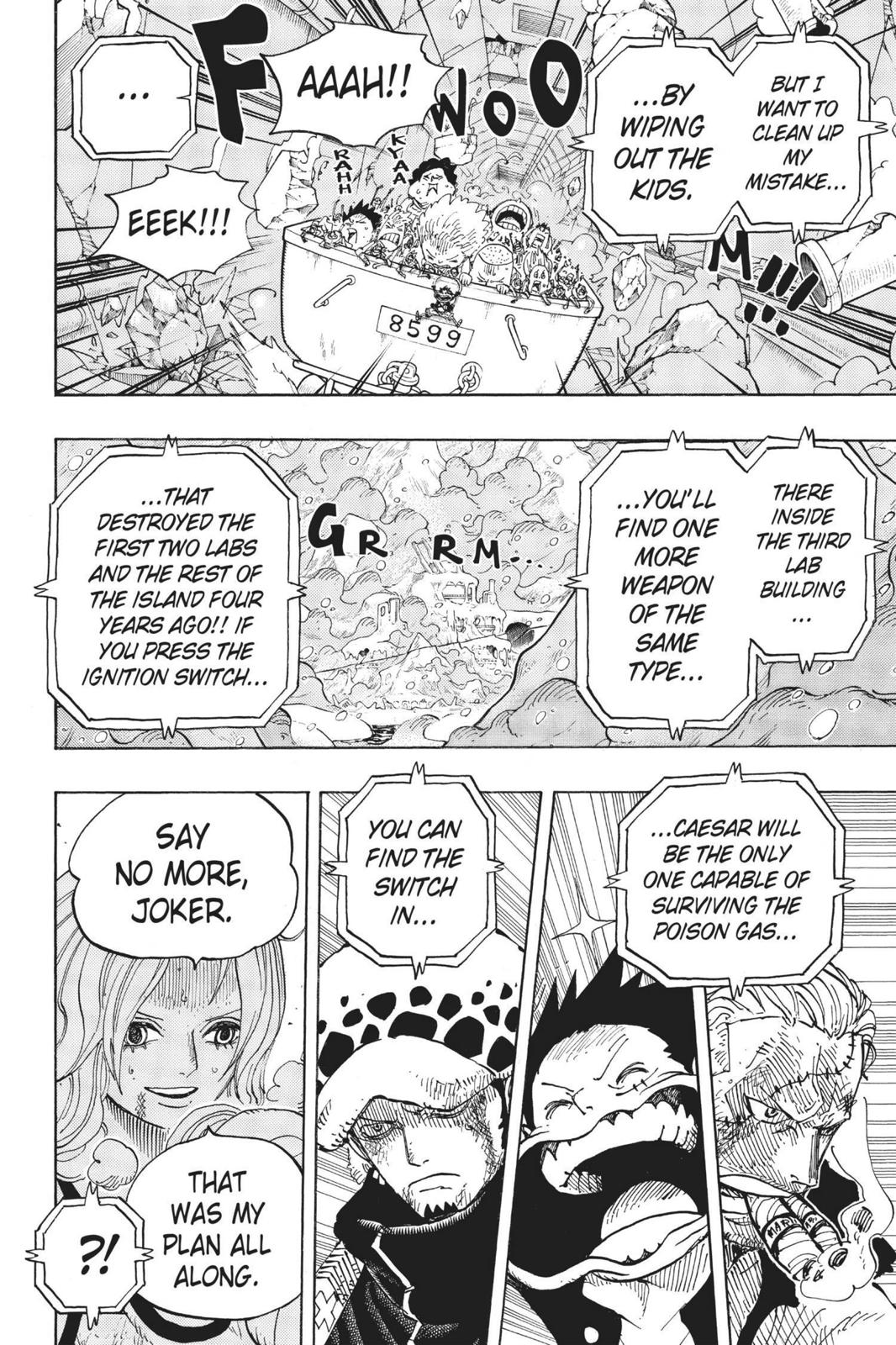 One Piece, Chapter 693 image 016