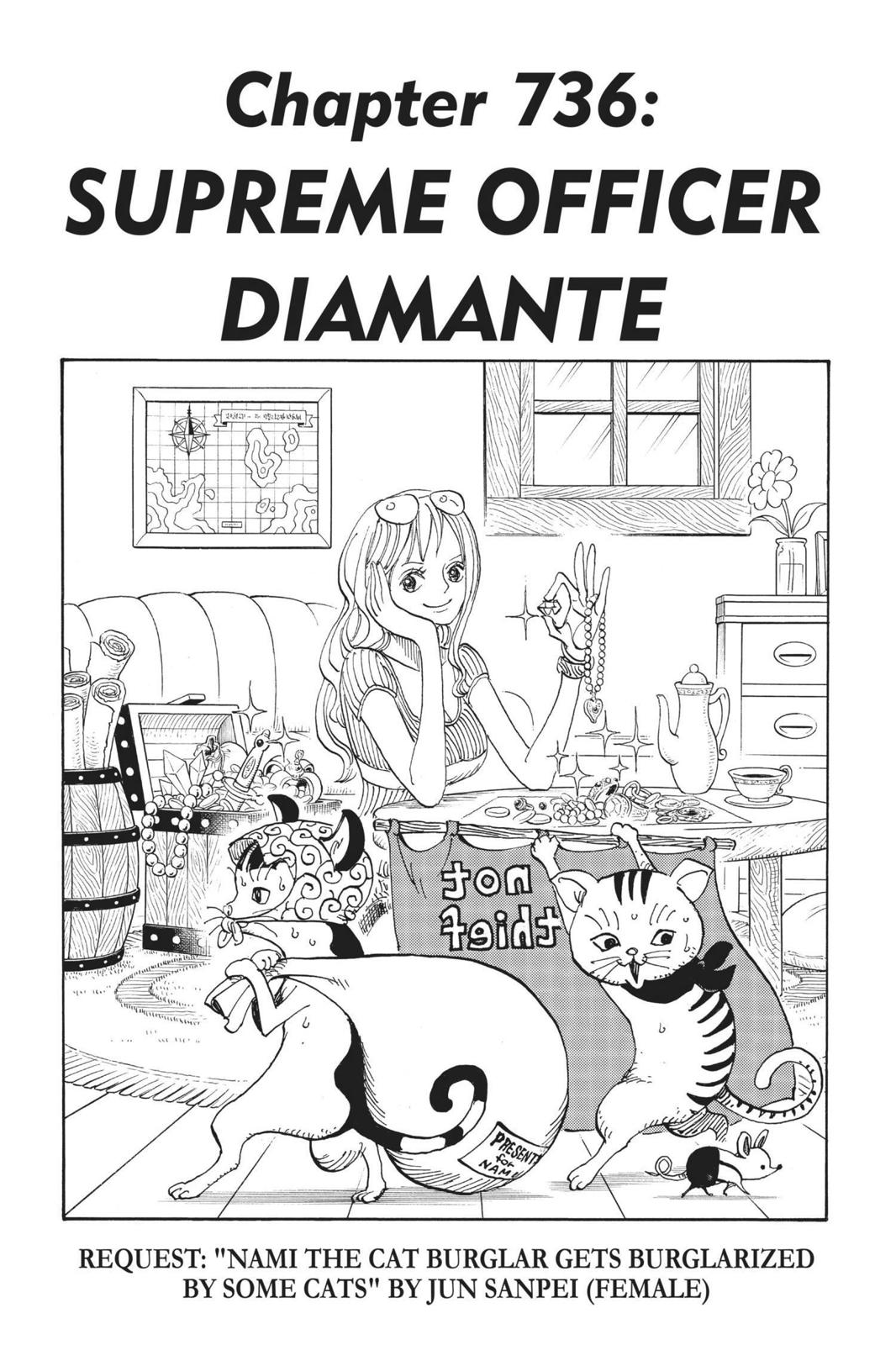 One Piece, Chapter 736 image 001