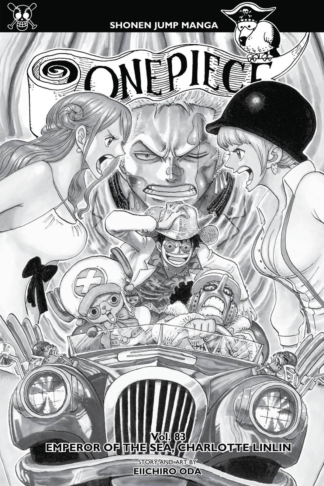 One Piece, Chapter 828 image 004