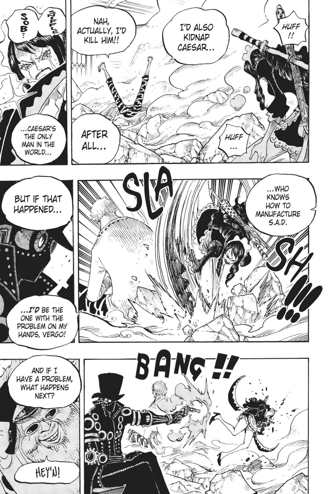 One Piece, Chapter 682 image 008