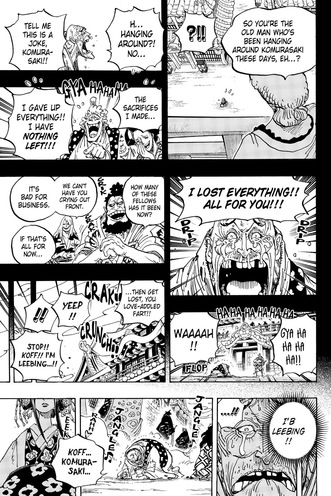 One Piece, Chapter 928 image 013