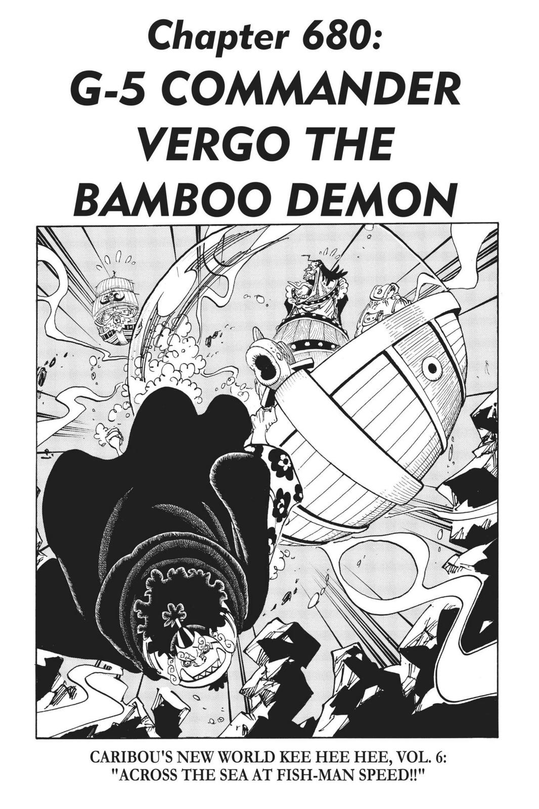One Piece, Chapter 680 image 001