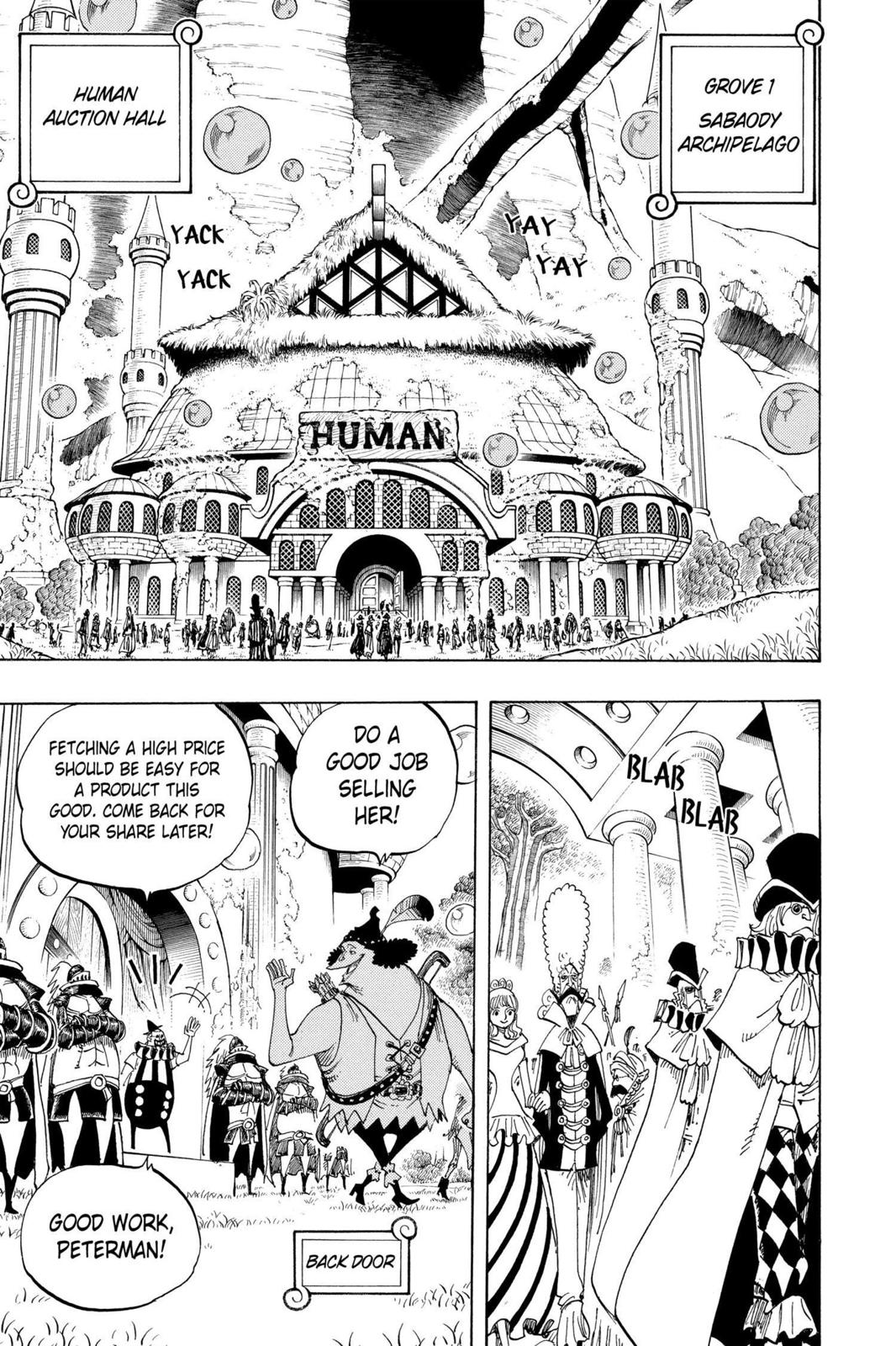 One Piece, Chapter 500 image 013