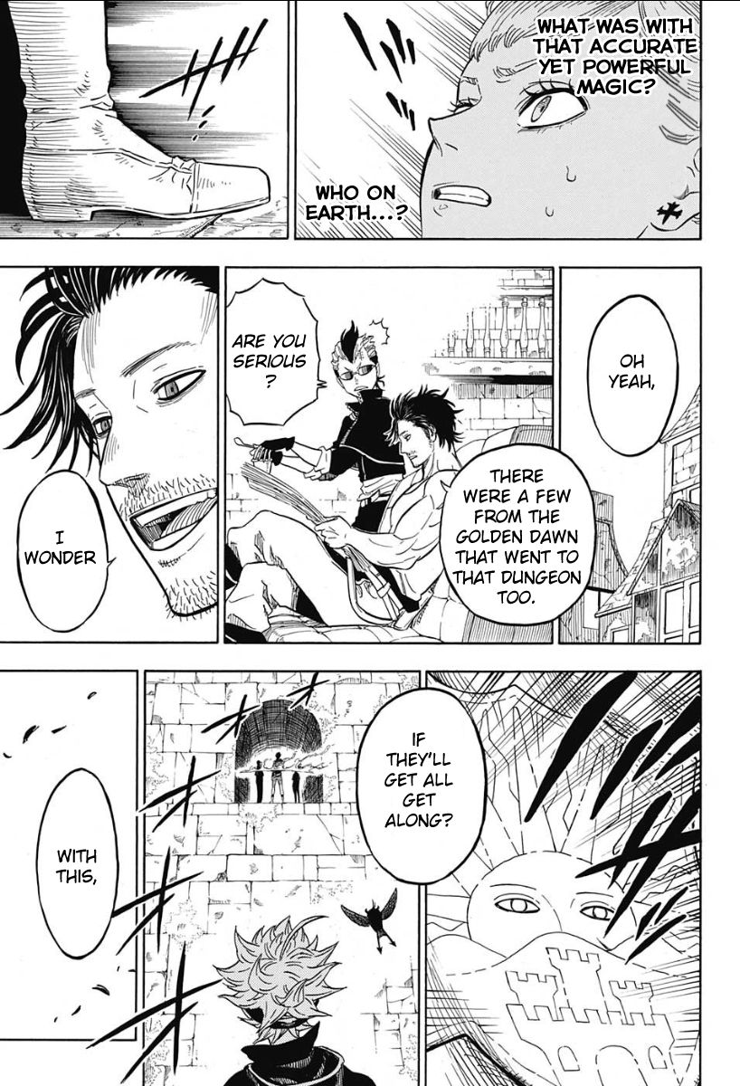Black Clover, Chapter 11 Dungeon image 020