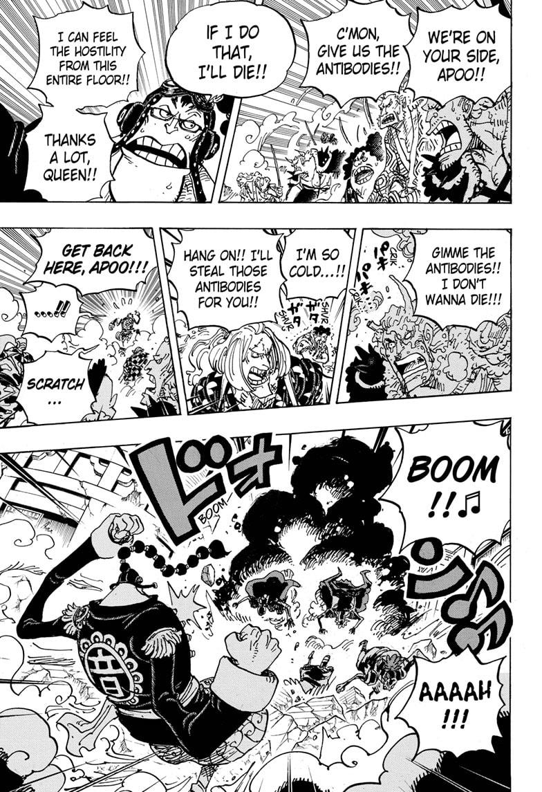 One Piece, Chapter 995 image 008