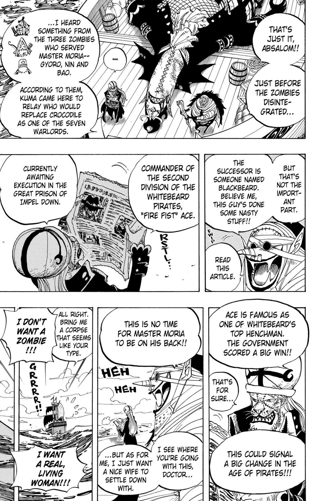 One Piece, Chapter 486 image 003