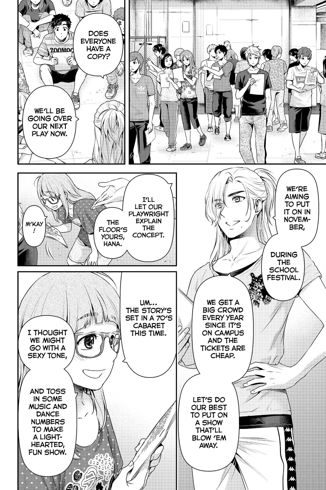 Domestic Na Kanojo, Chapter 163 image 008