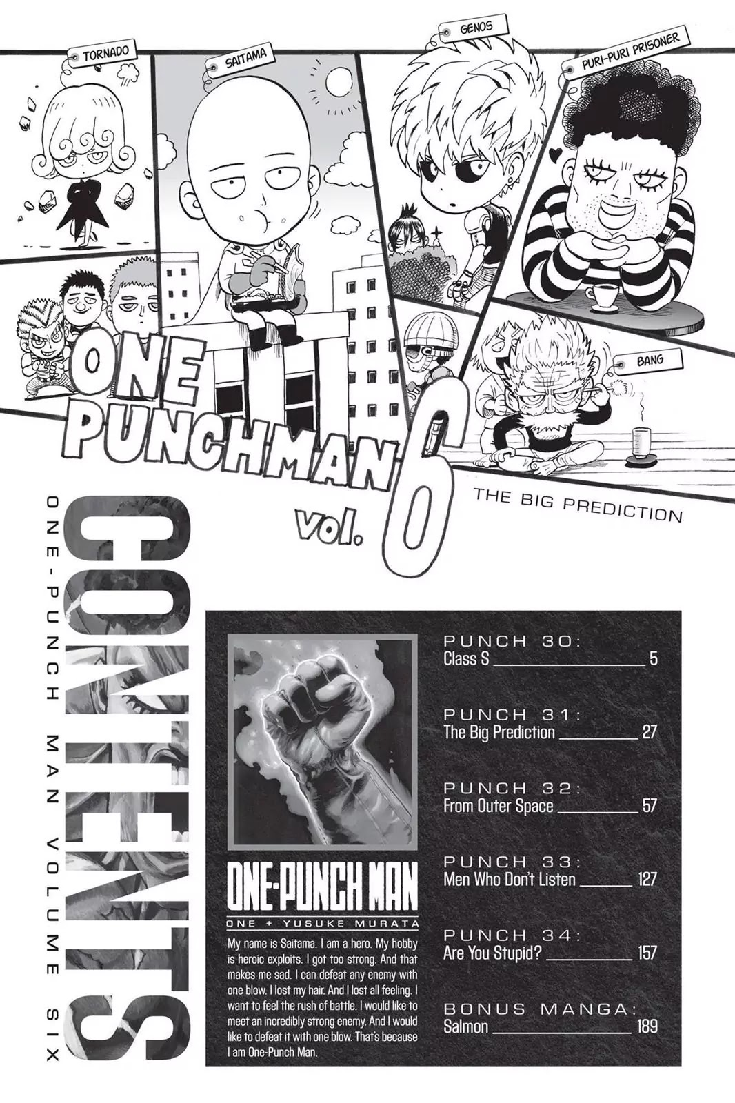 One Punch Man, Chapter Onepunch-Man 30 image 005