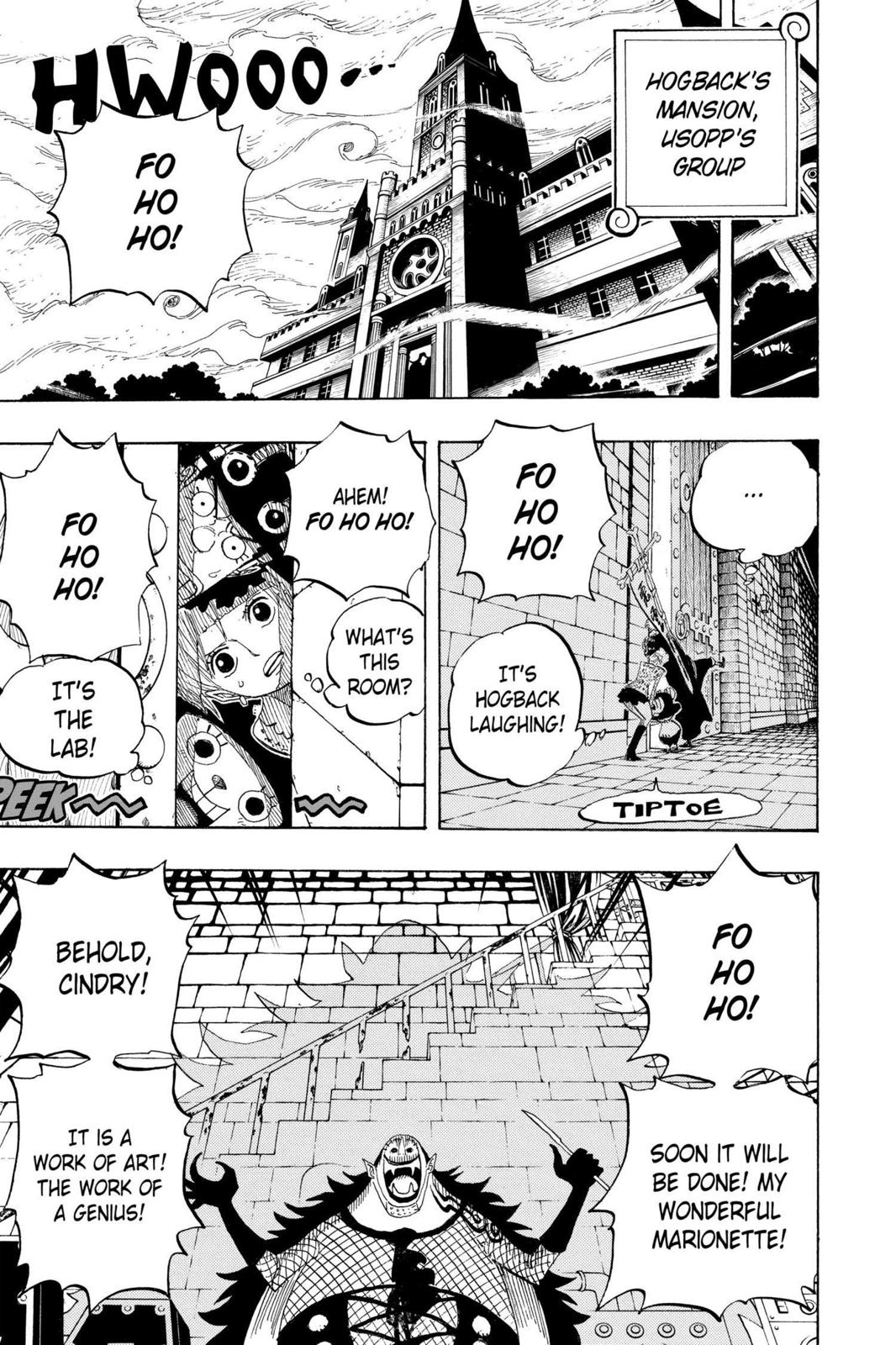 One Piece, Chapter 449 image 005