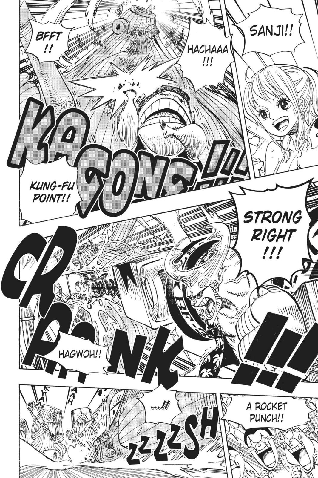 One Piece, Chapter 658 image 010