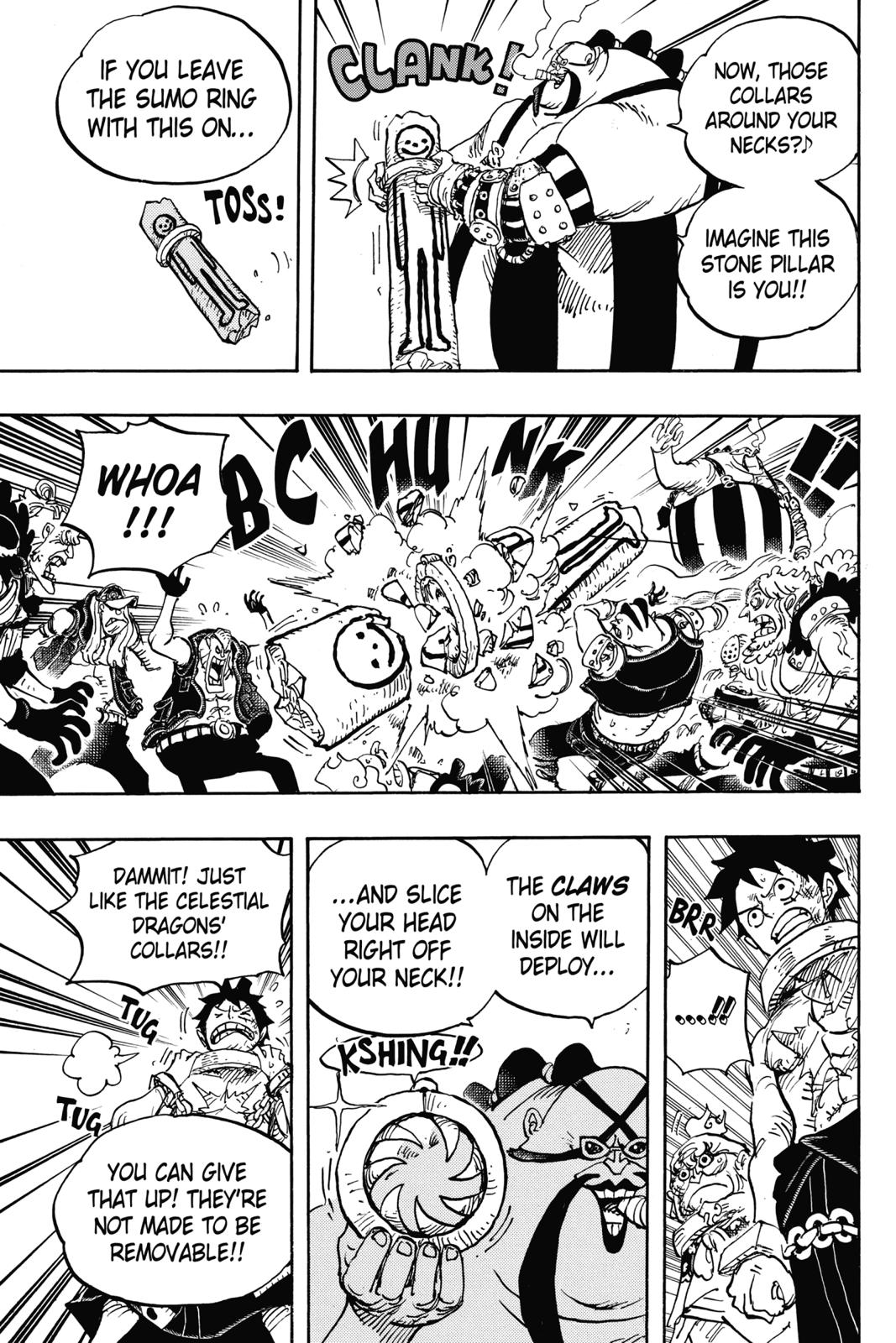 One Piece, Chapter 936 image 005