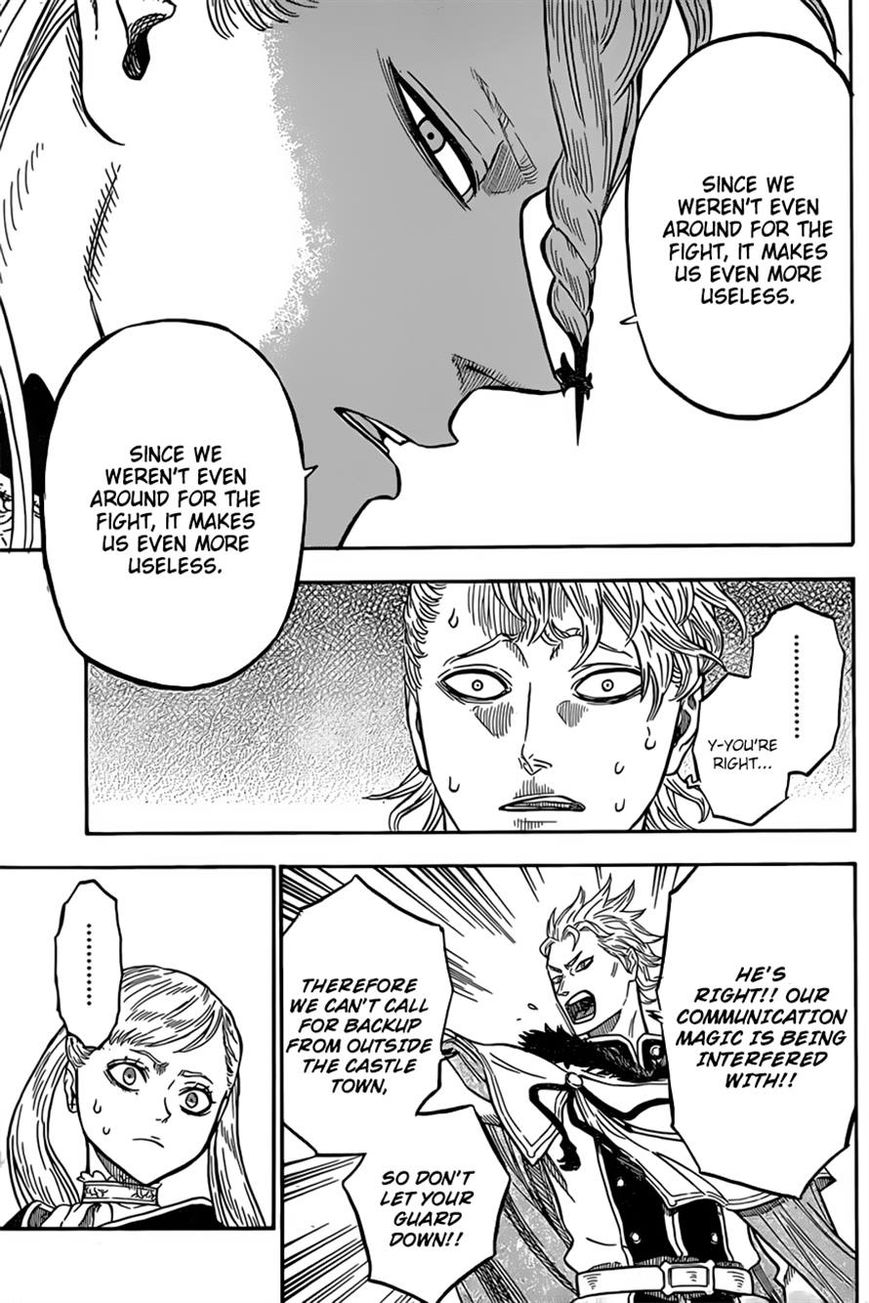 Black Clover, Chapter 35 The Most Powerful Man image 005