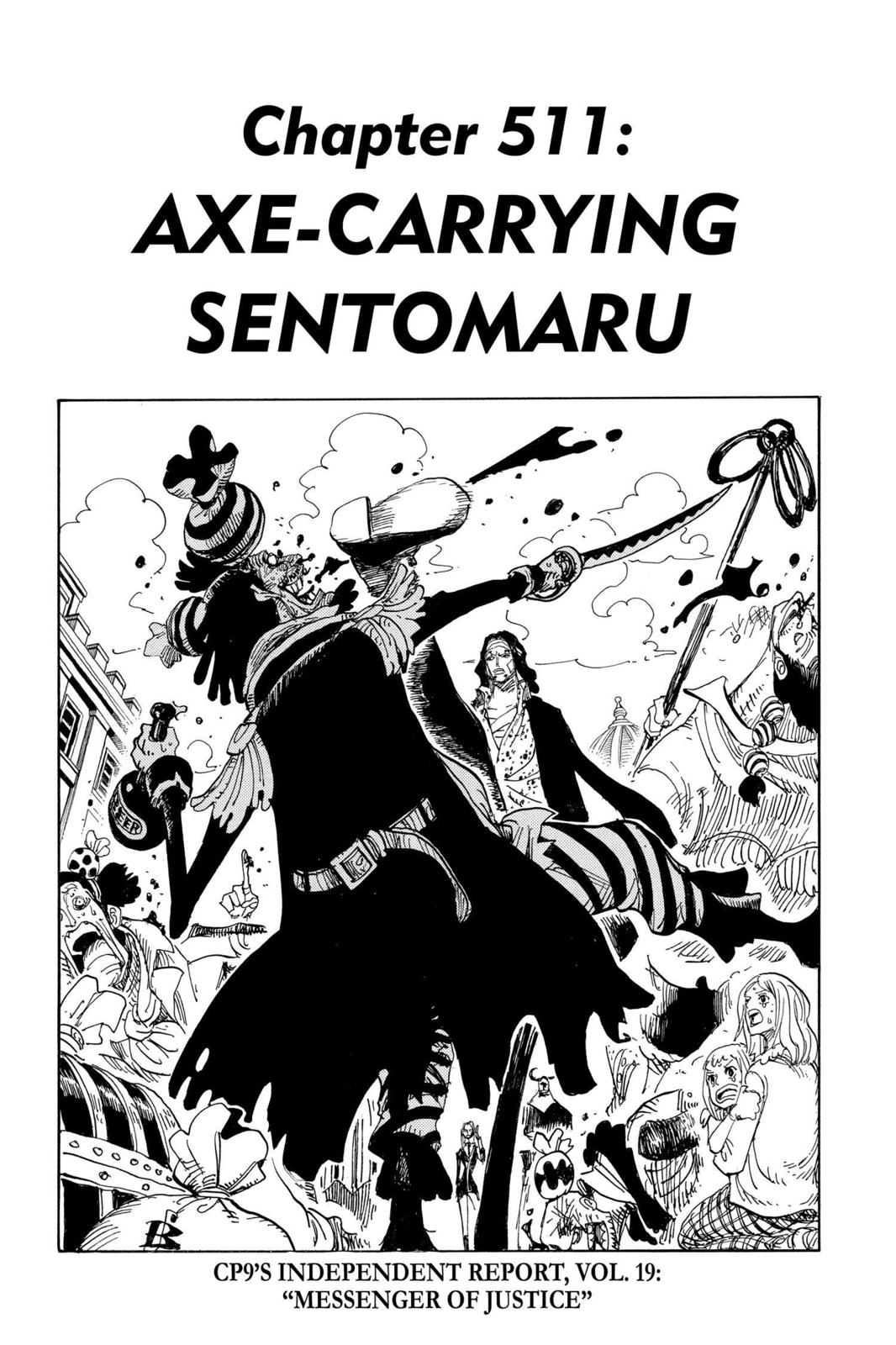 One Piece, Chapter 511 image 001