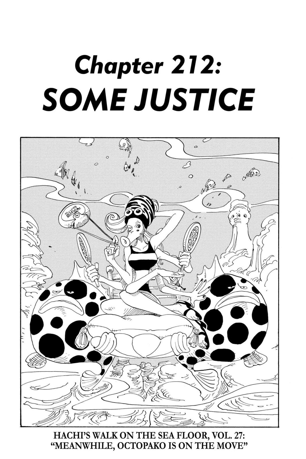 One Piece, Chapter 212 image 001