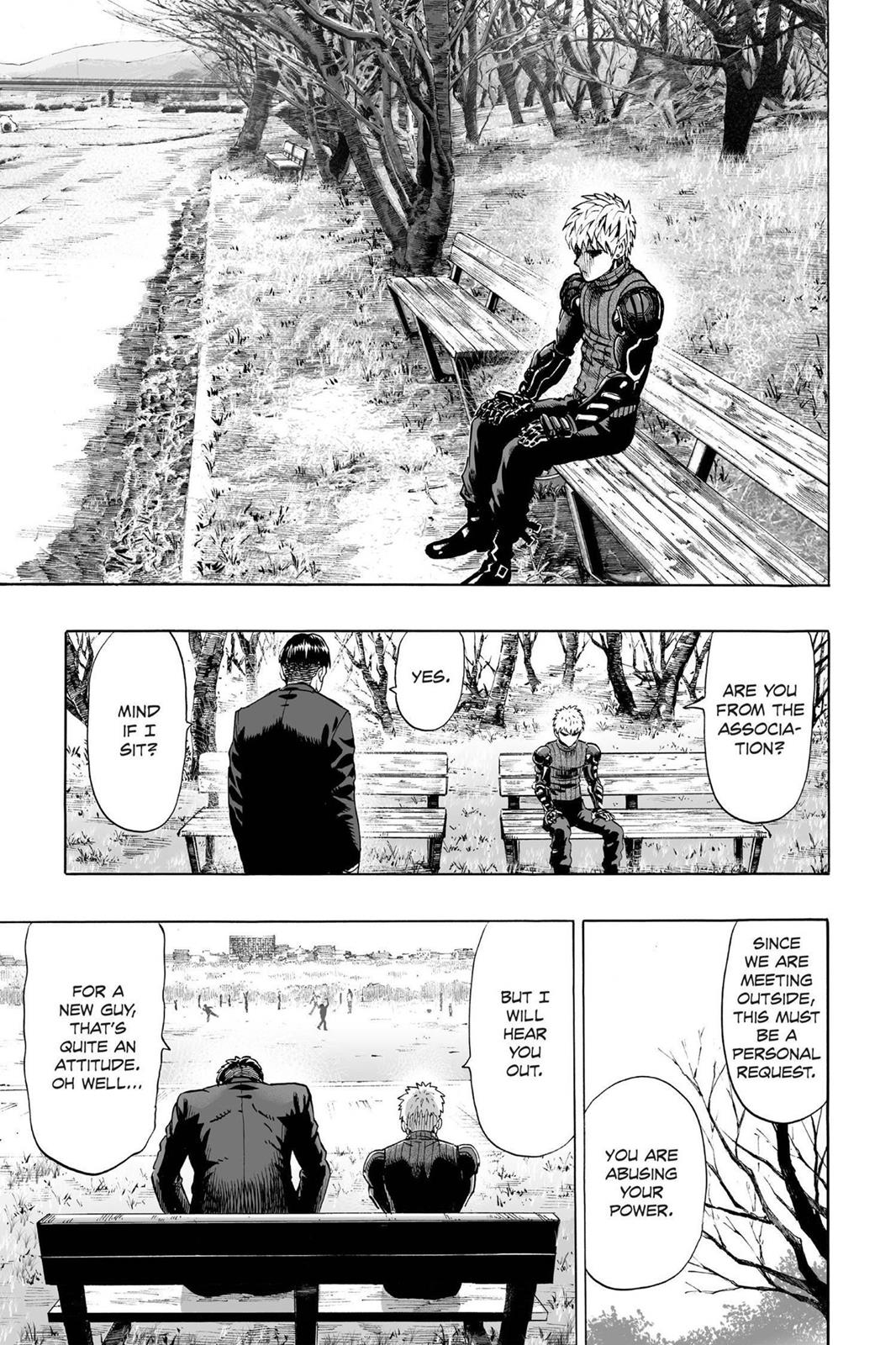 One Punch Man, Chapter Onepunch-Man 40.5 image 003