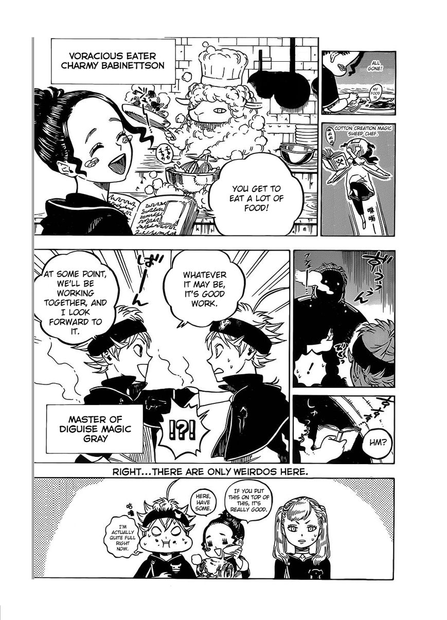 Black Clover, Chapter 6 Go Go, First MiSSON !!! image 004