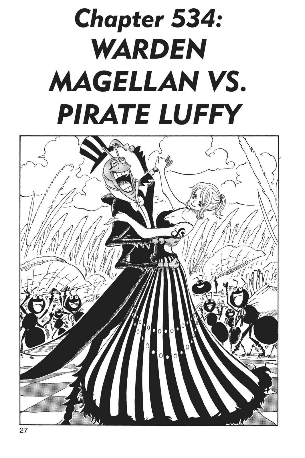 One Piece, Chapter 534 image 001