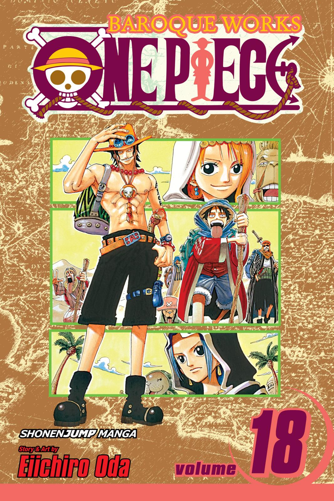 One Piece, Chapter 156 image 001