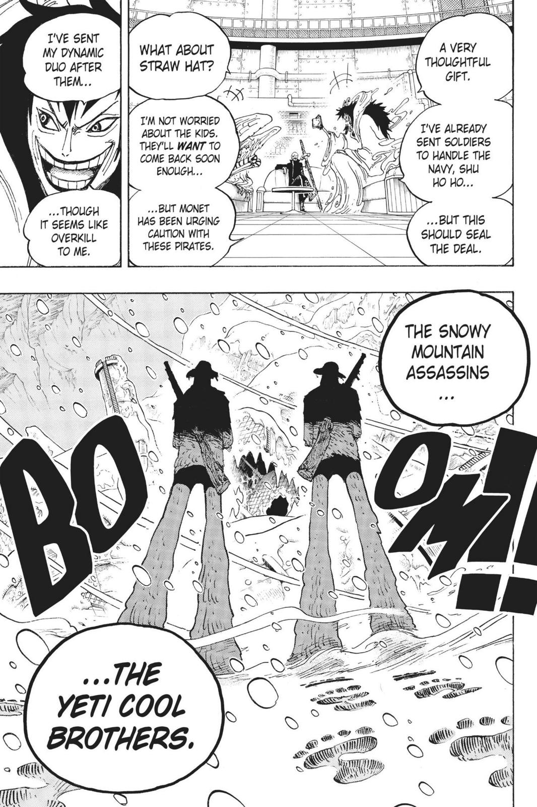 One Piece, Chapter 665 image 017