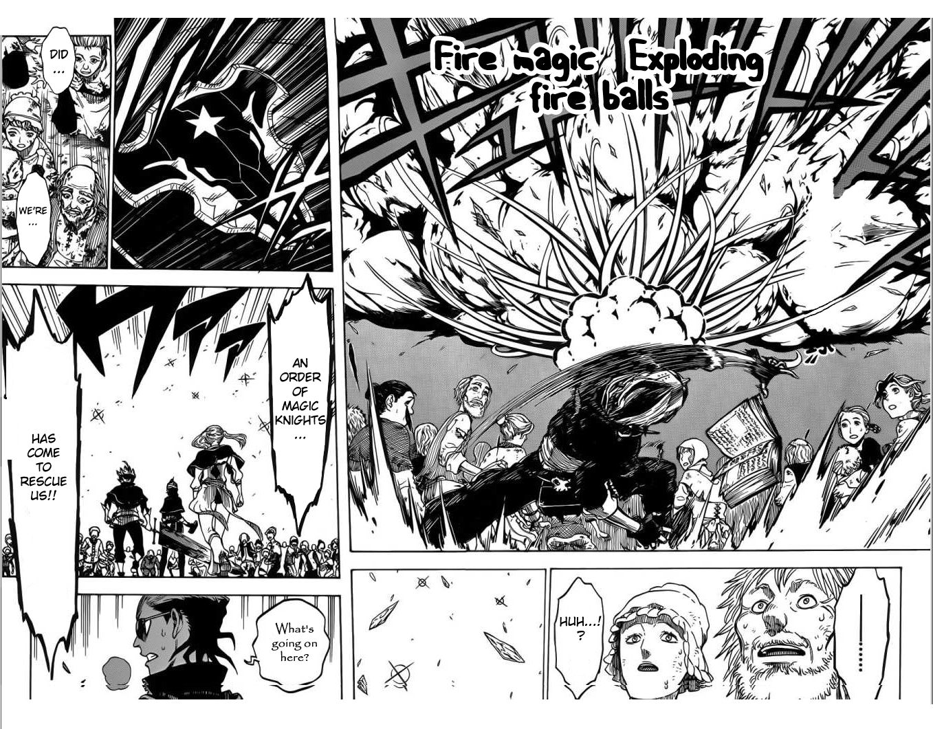 Black Clover, Chapter 6 Go Go, First MiSSON !!! image 015