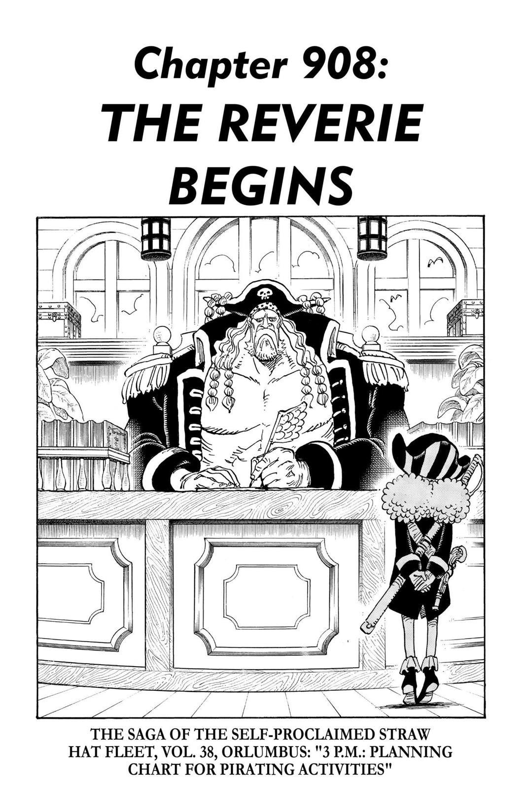 One Piece, Chapter 908 image 001
